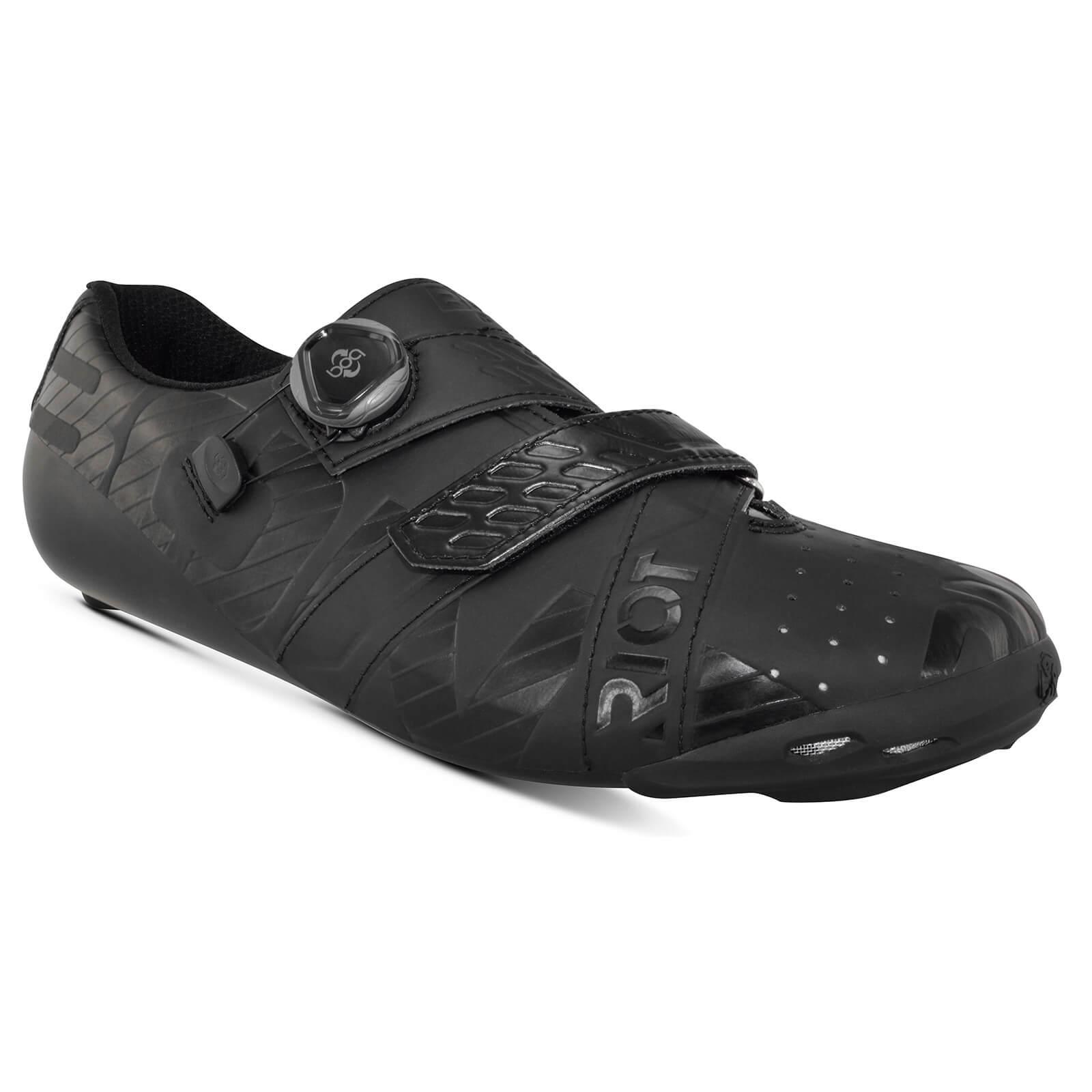 Bont Riot+ Road Shoes - EU 42 - Black