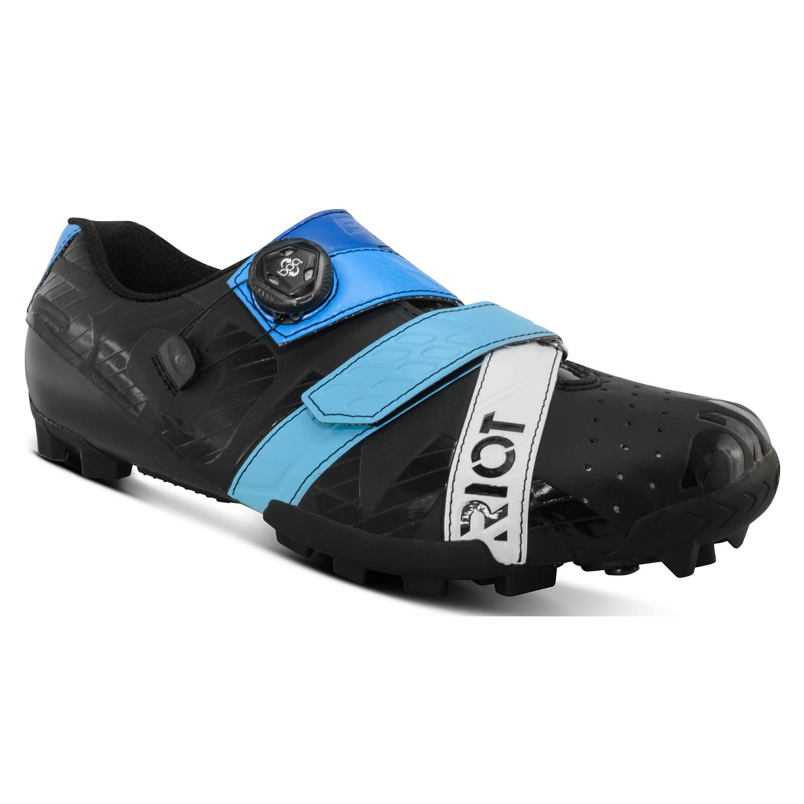 Bont Riot+ MTB Shoes - EU 42.5 - Black/Blue