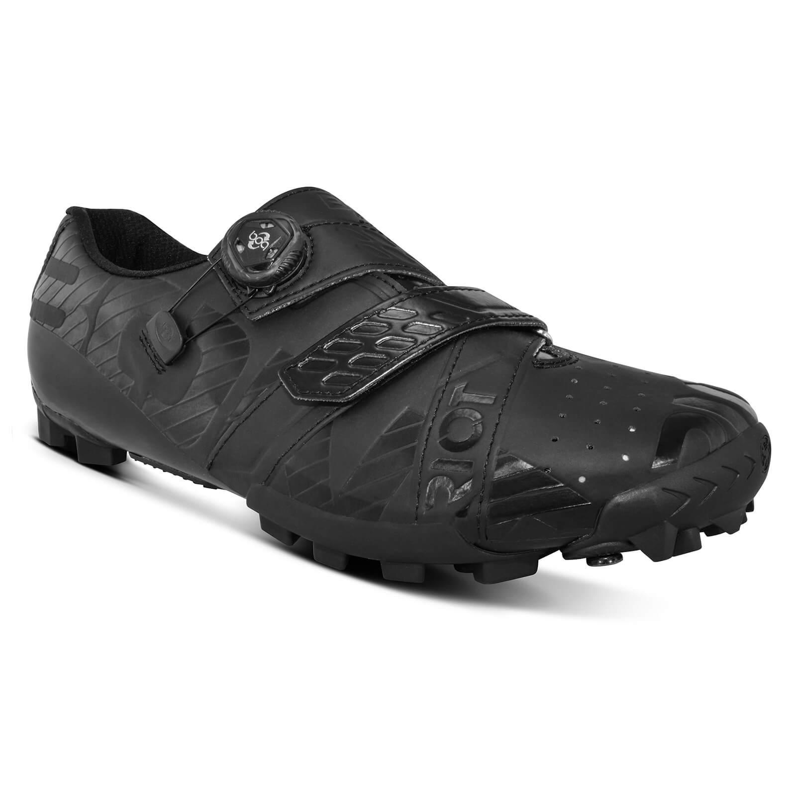 Bont Riot+ MTB Shoes - EU 40.5 - Schwarz