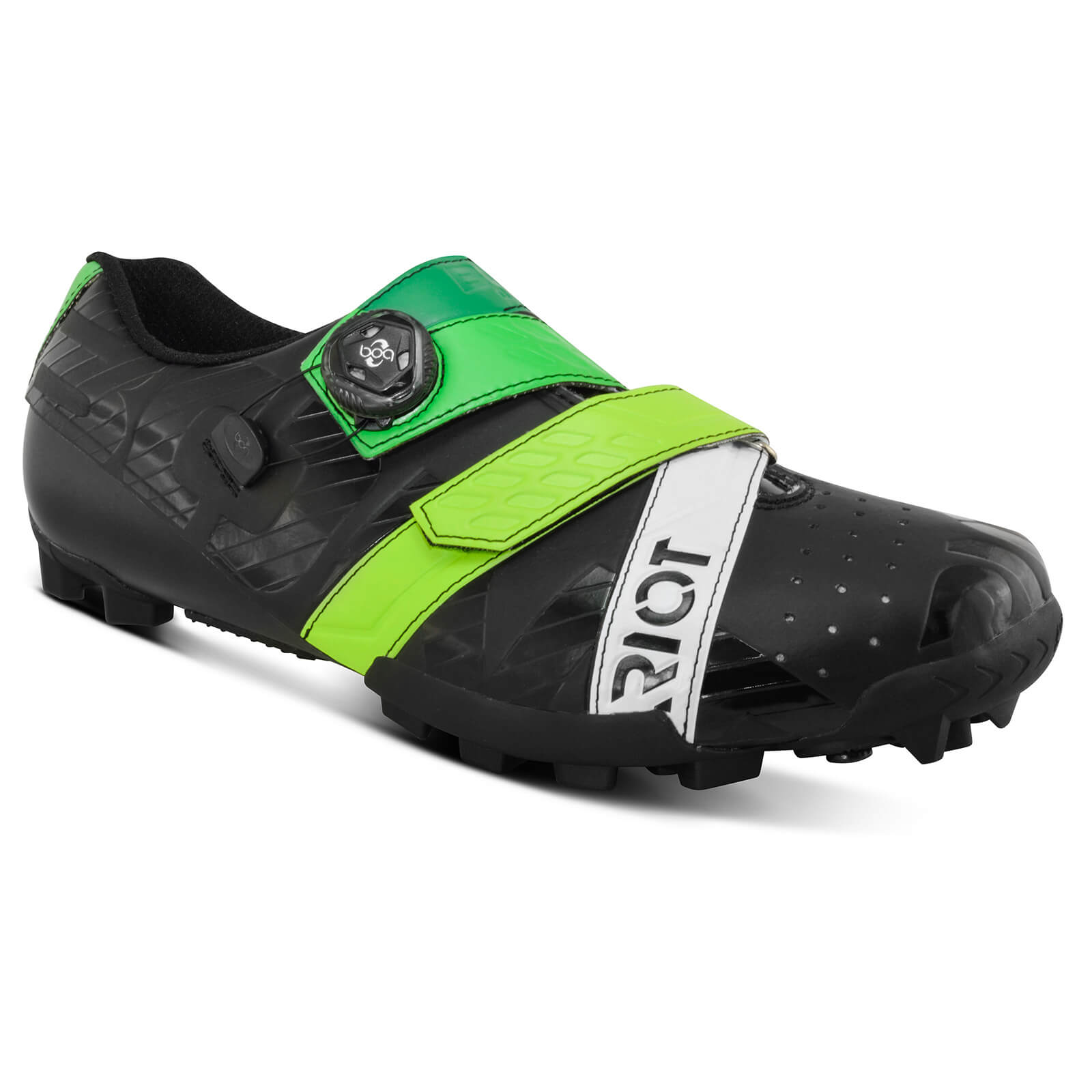 Bont Riot+ MTB Shoes - EU 44 - Black/Green