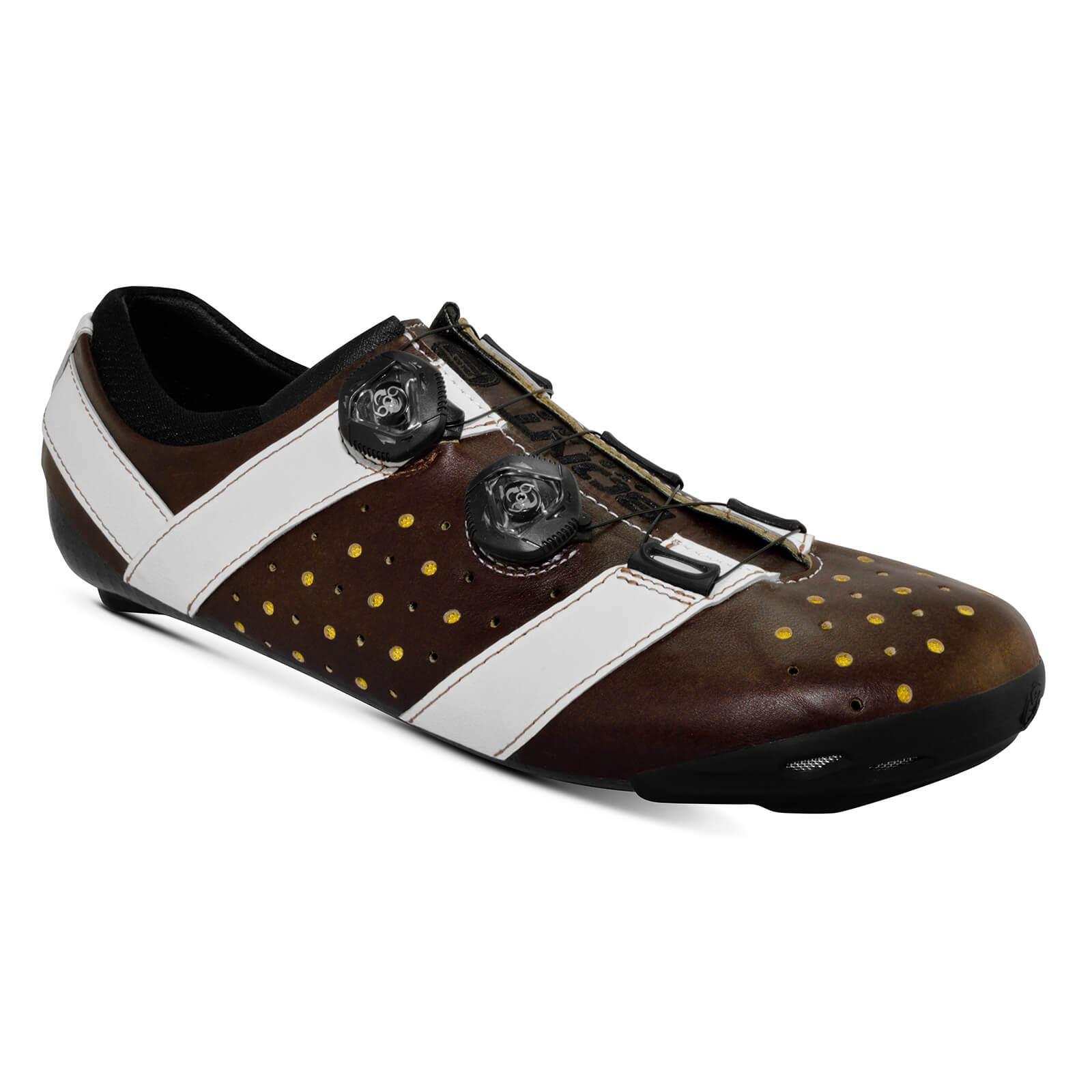 Bont Vaypor + Road Shoes - EU 42 - Normal Fit - Brown/White