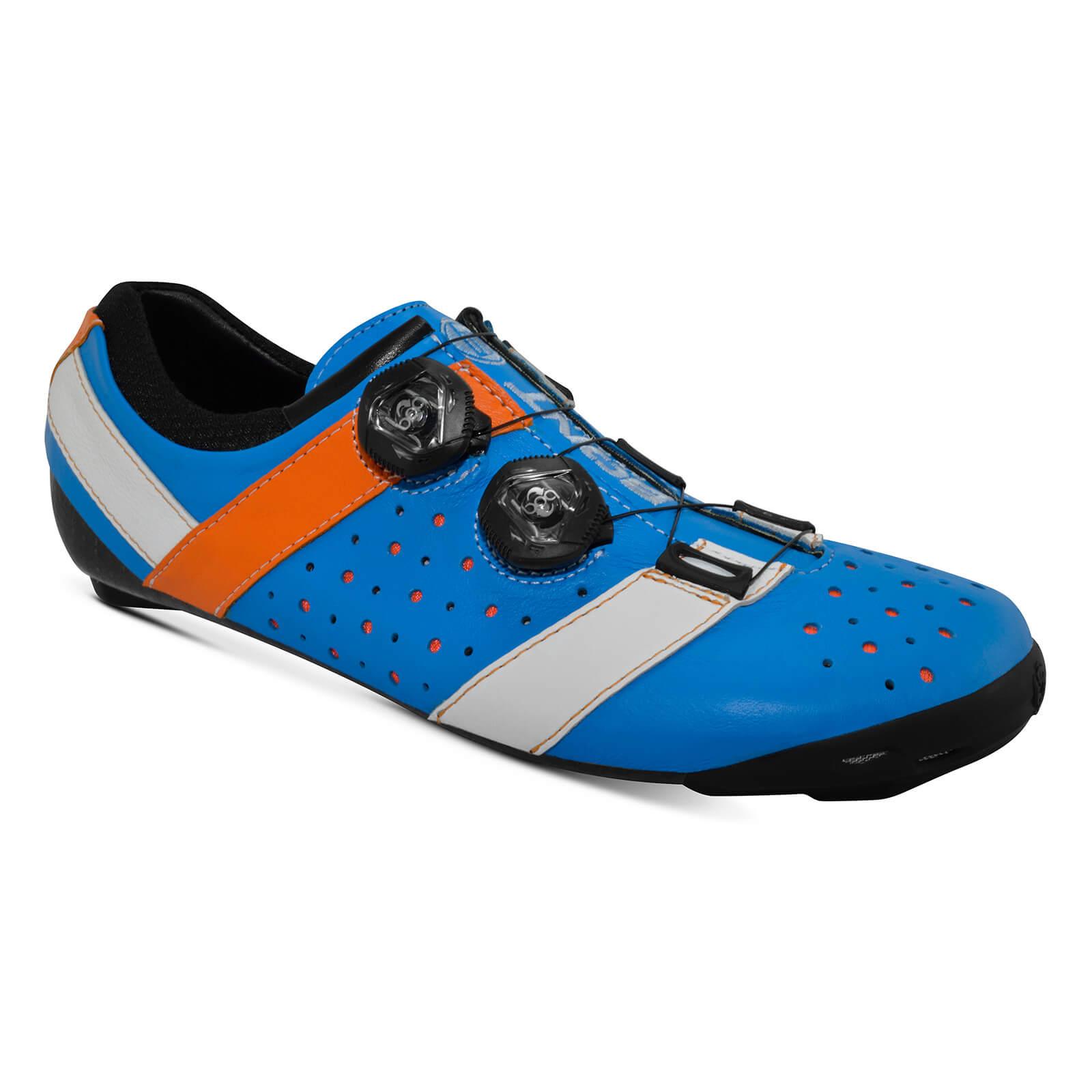 Bont Vaypor + Road Shoes - EU 41 - Normal Fit - Blue/Orange