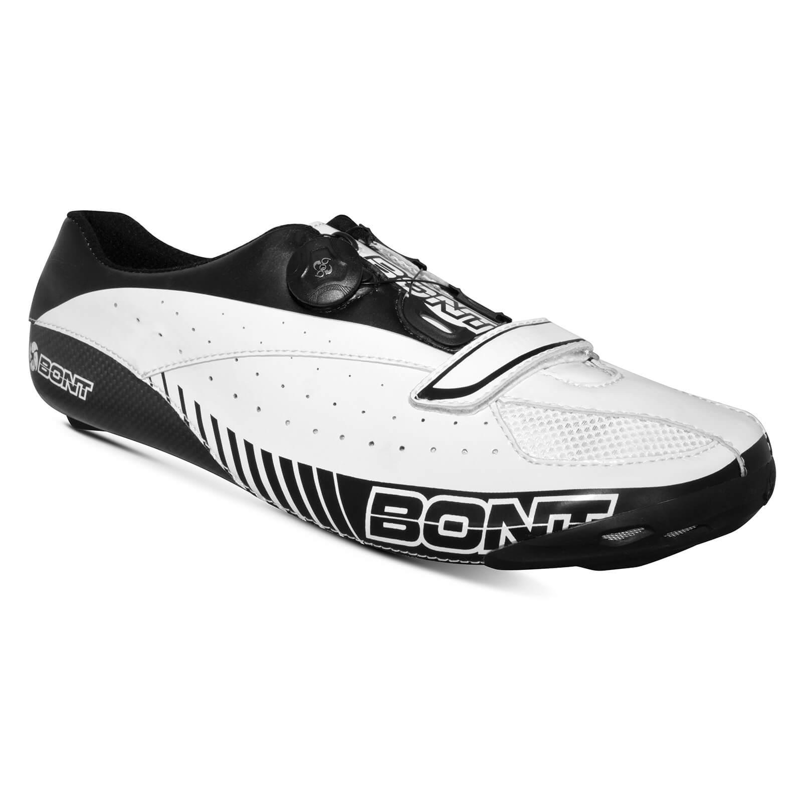 Bont Blitz Road Shoes - EU 44 - White/Black