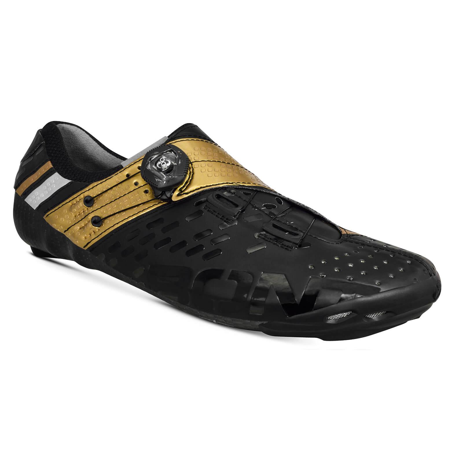 Bont Helix Rennradschuhe - EU 47 - Black/Gold