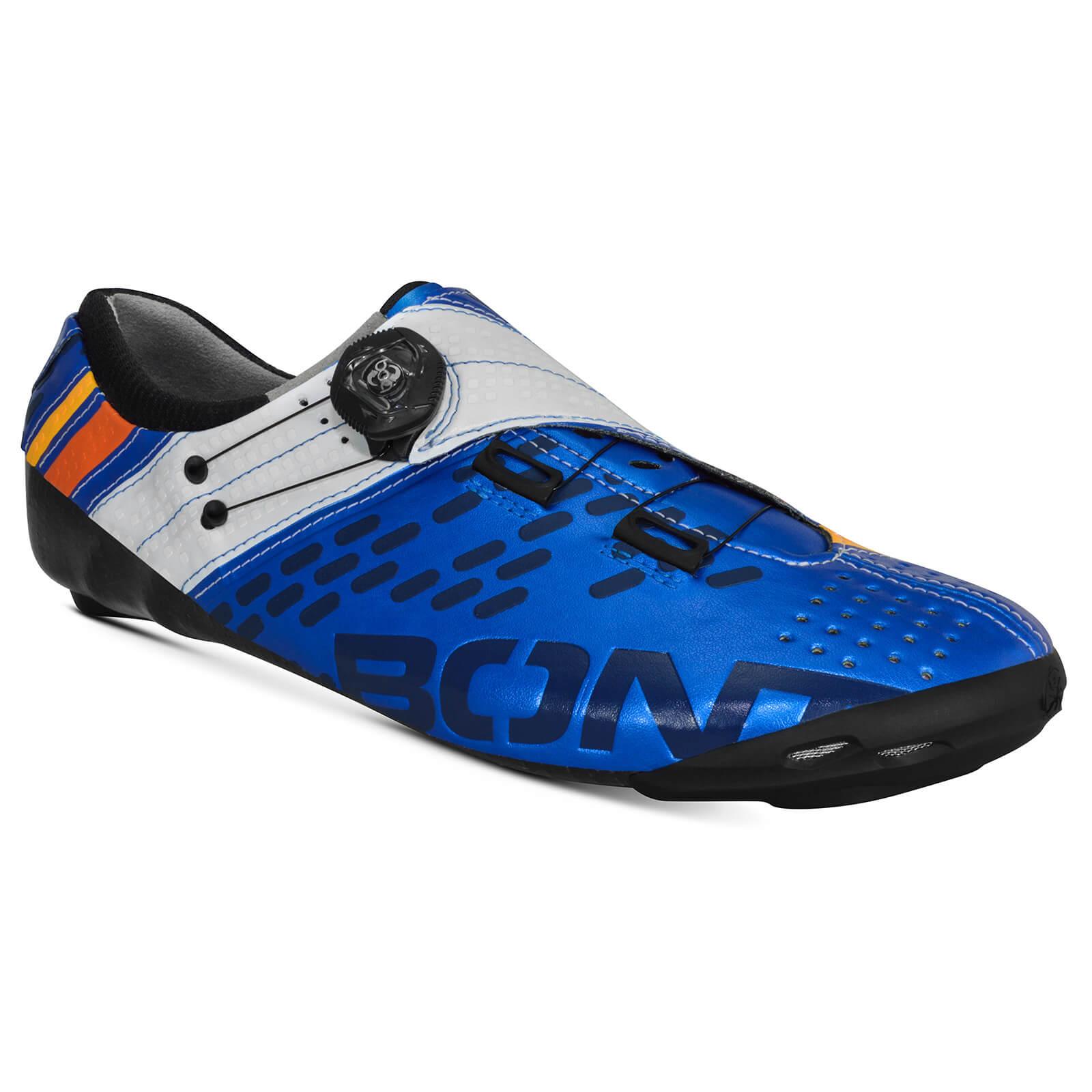 Bont Helix Road Shoes - EU 44 - Blue/White
