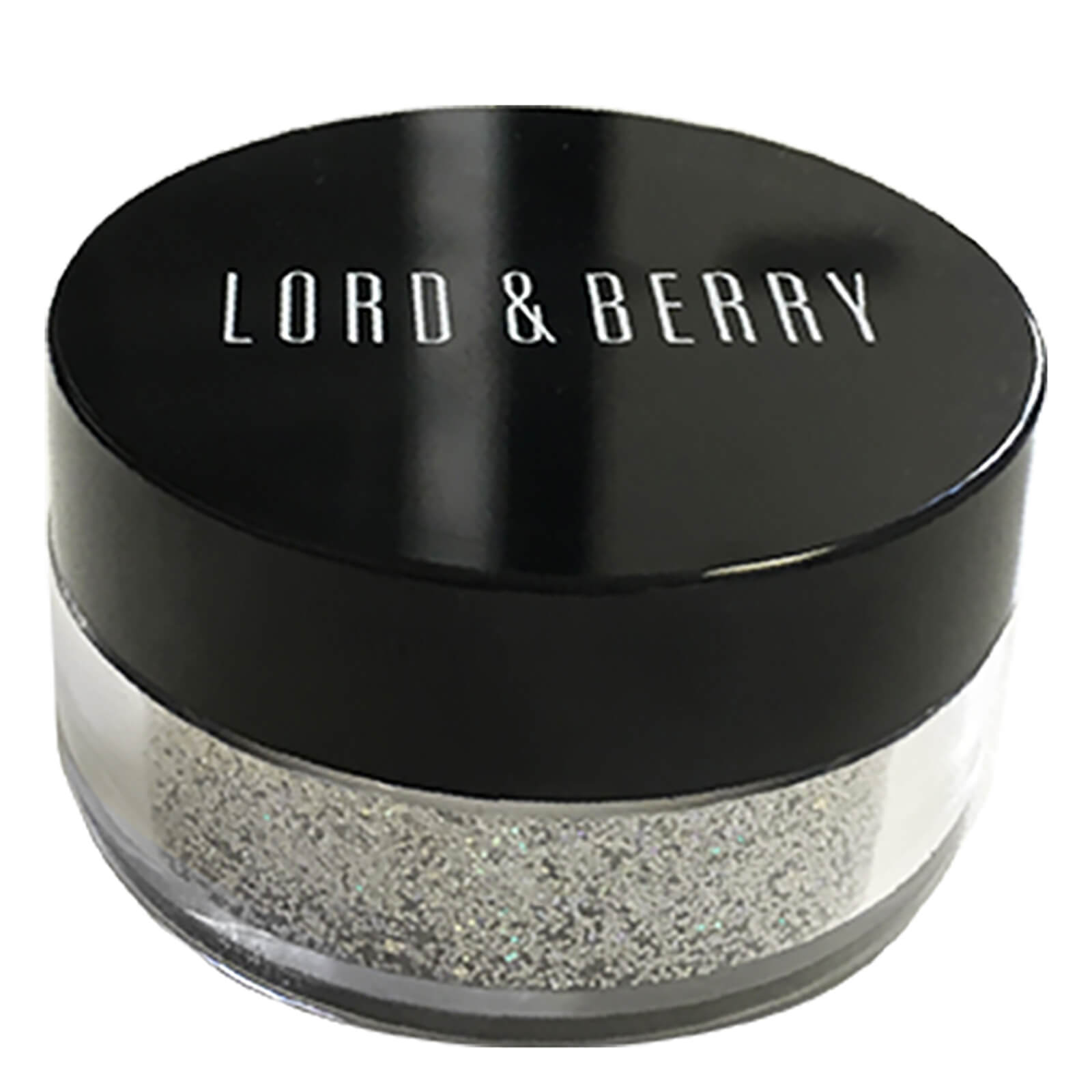 Lord & Berry Glitter Shadow (Various Shades) - Halo Silver