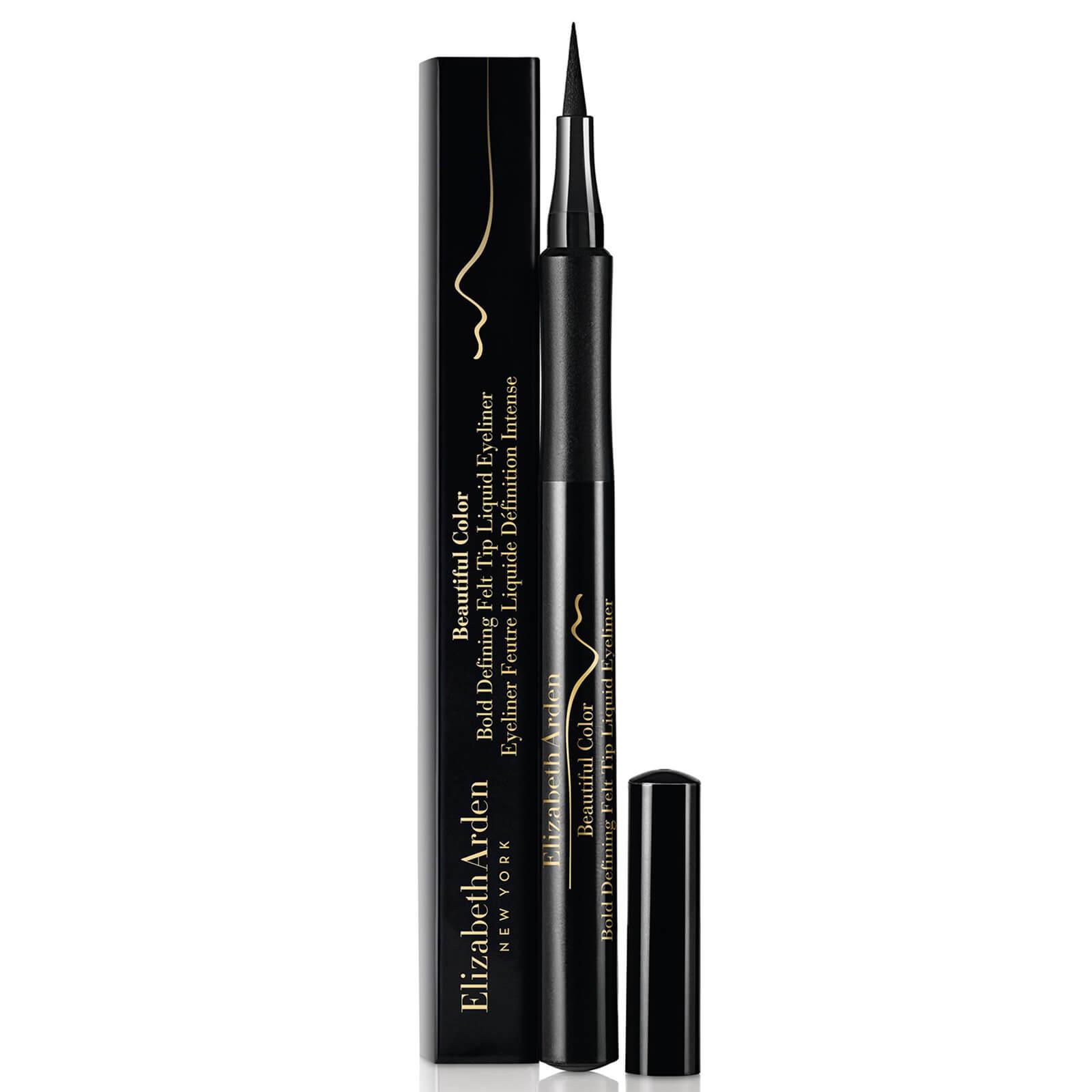 Купить Жидкая подводка-фломастер Elizabeth Arden Beautiful Colour Bold Defining Felt Tip Liquid Eye Liner - Seriously Black 1, 2 мл