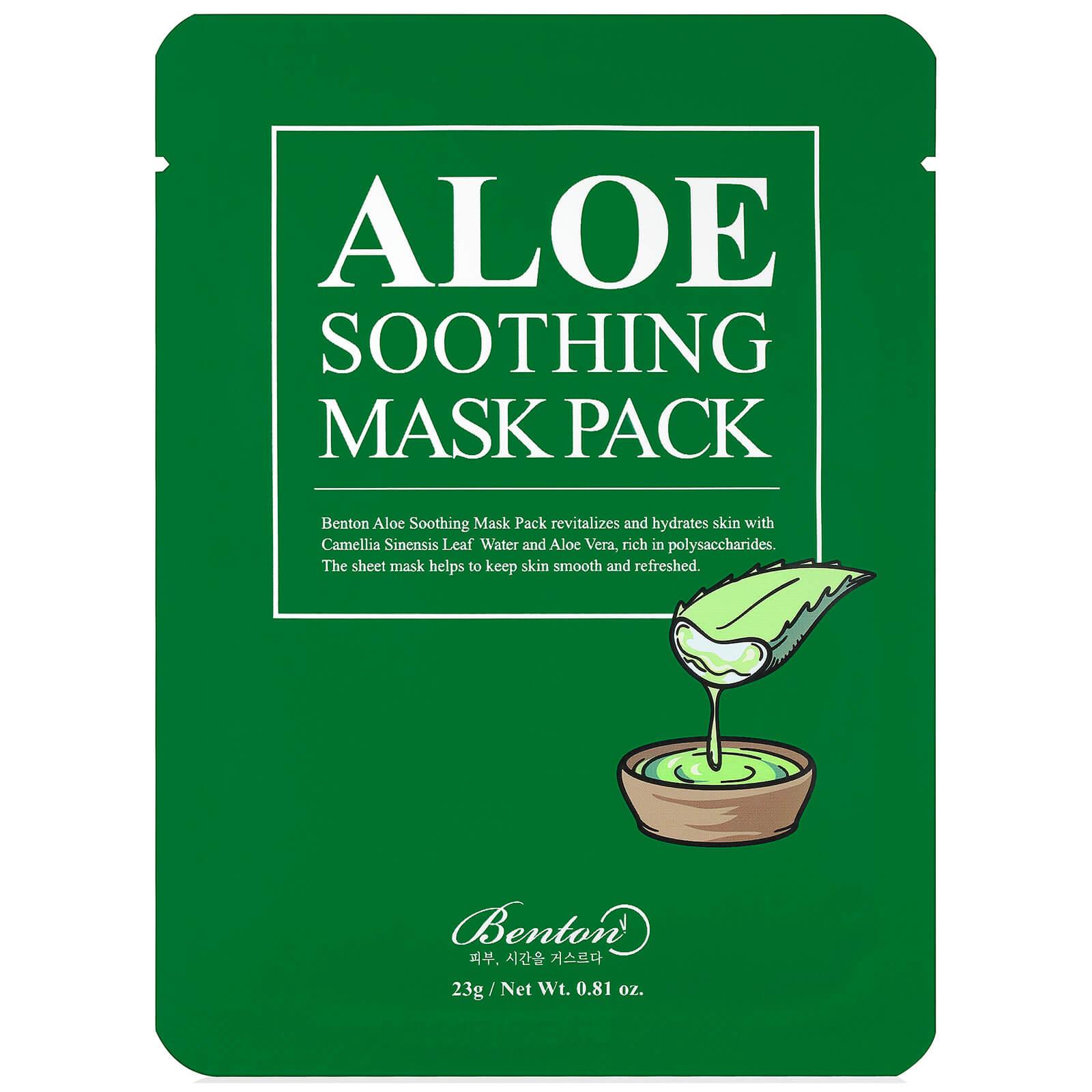 Купить Успокаивающая маска для лица Benton Aloe Soothing Mask Pack - 1 шт.