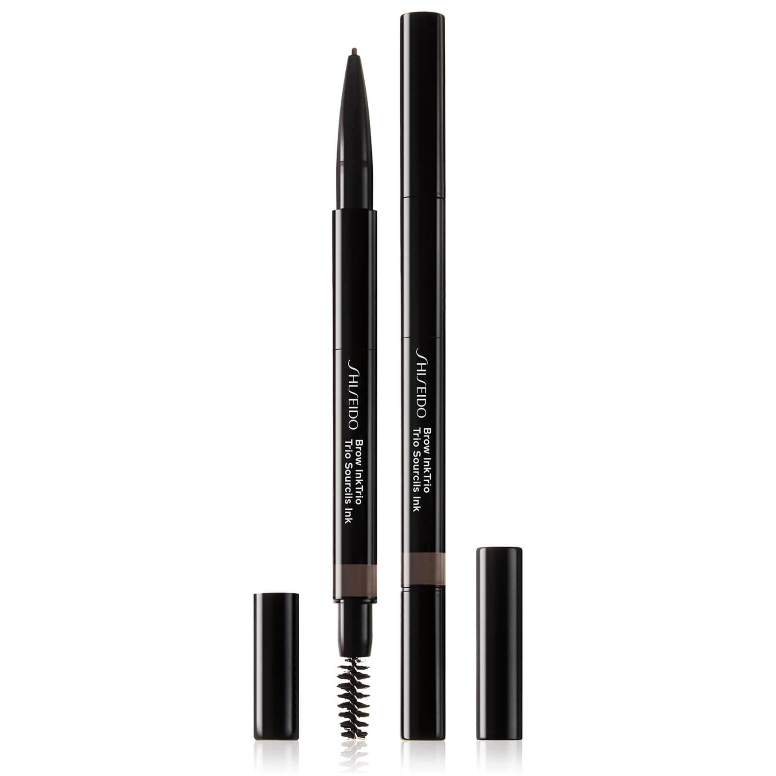 Купить Моделирующий карандаш для бровей 3-в-1 Shiseido Brow InkTrio (различные оттенки) - Deep Brown 03