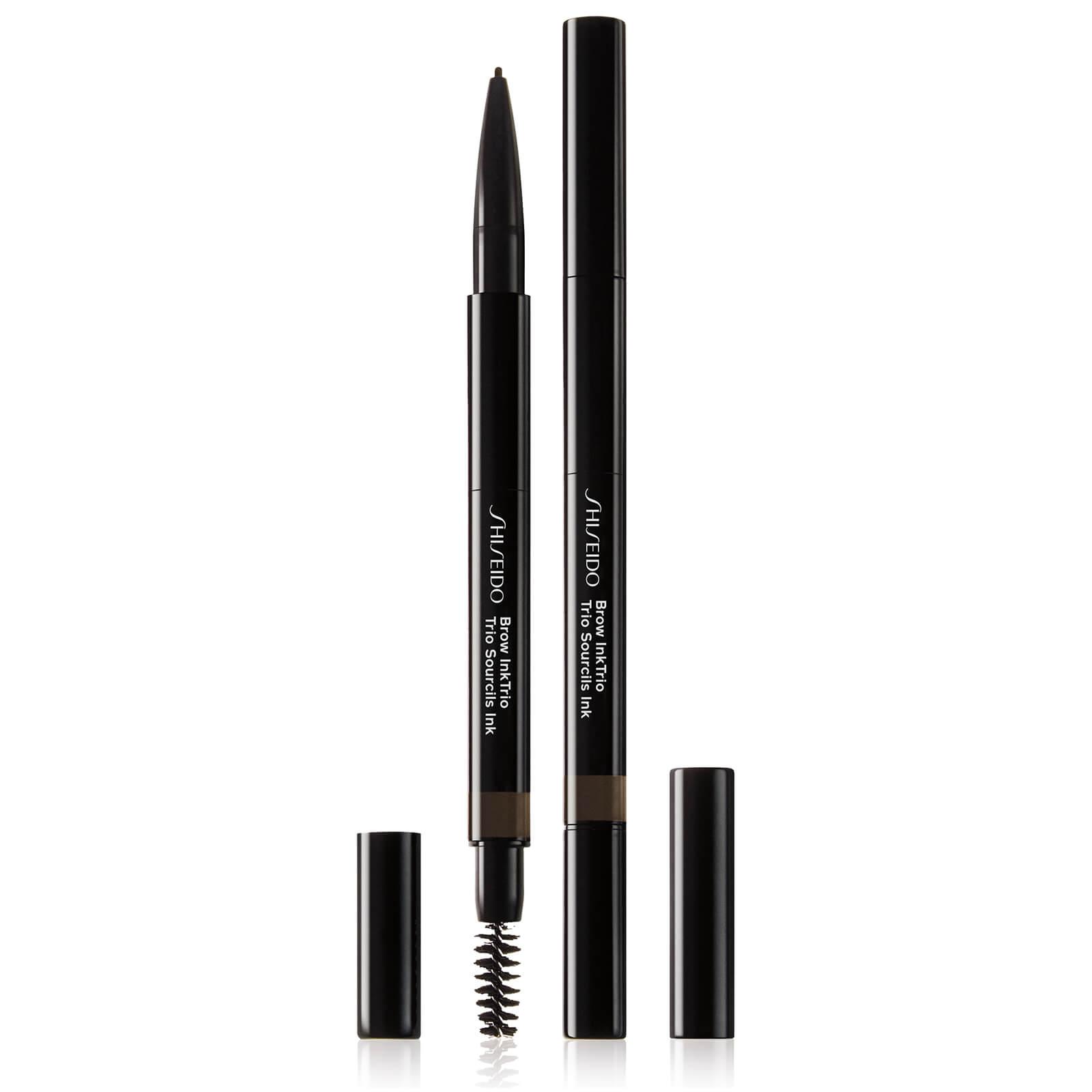 Купить Моделирующий карандаш для бровей 3-в-1 Shiseido Brow InkTrio (различные оттенки) - Ebony 04