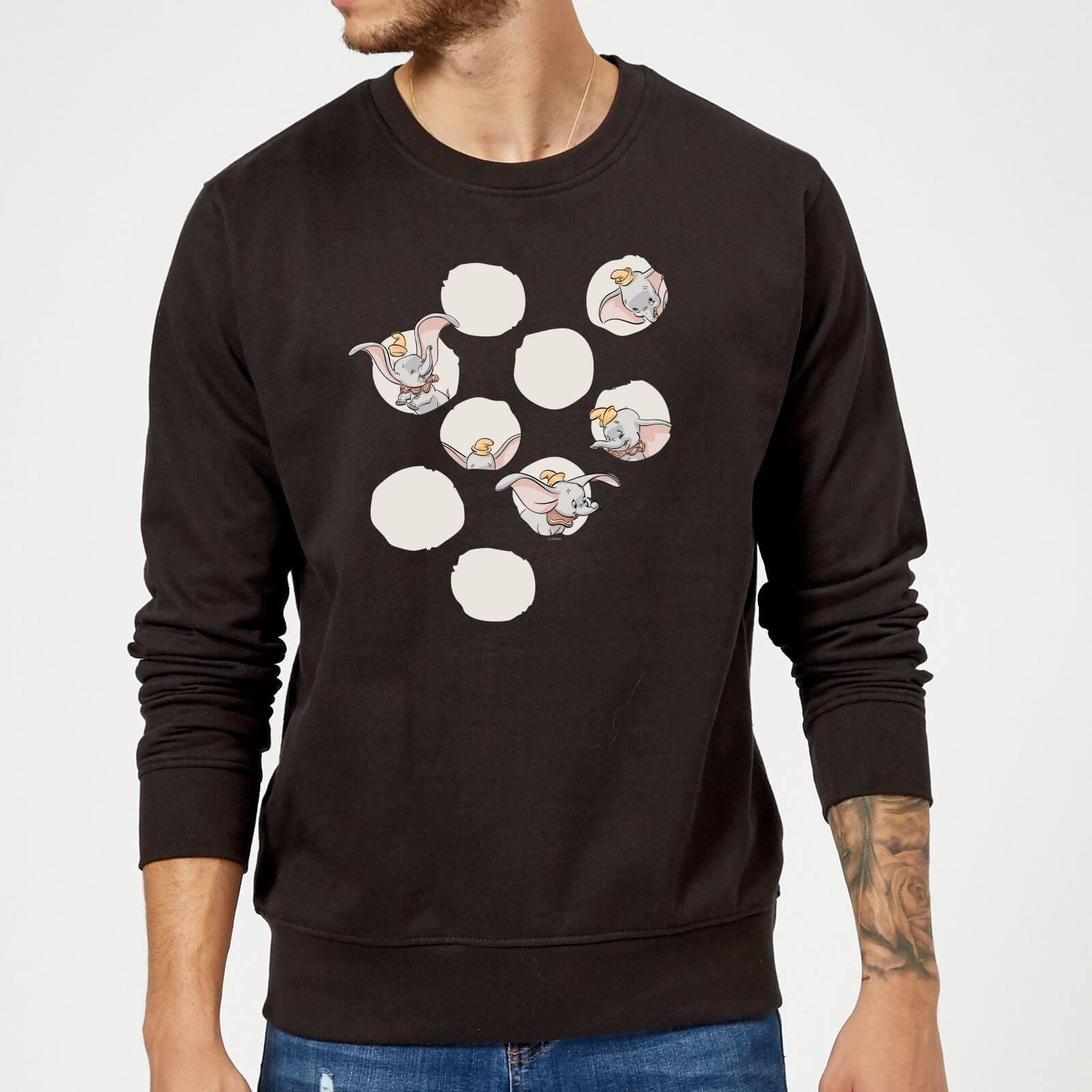 Disney Dumbo Peekaboo Sweatshirt - Black - 5XL - Black