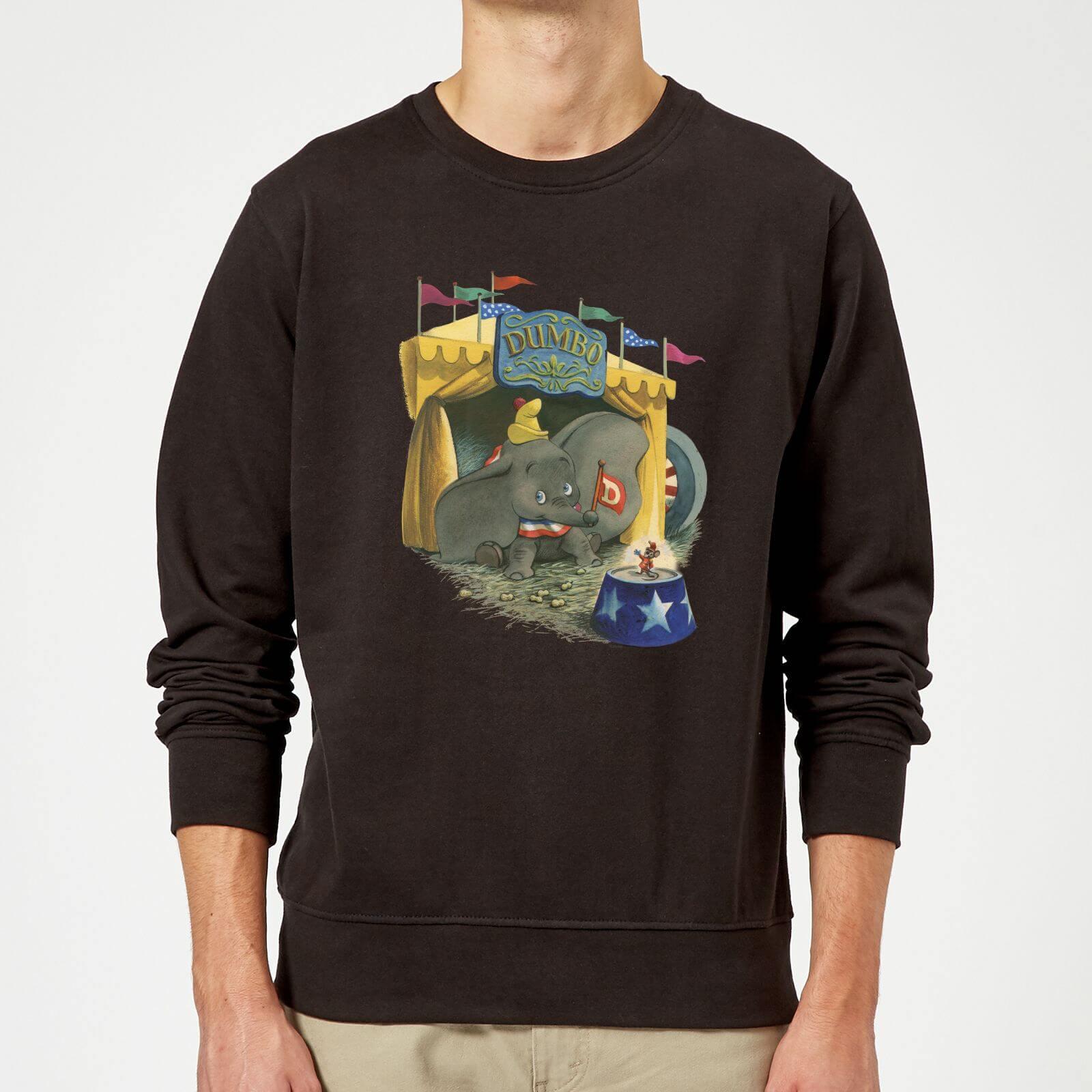 Disney Dumbo Circus Sweatshirt - Black - 5XL - Black