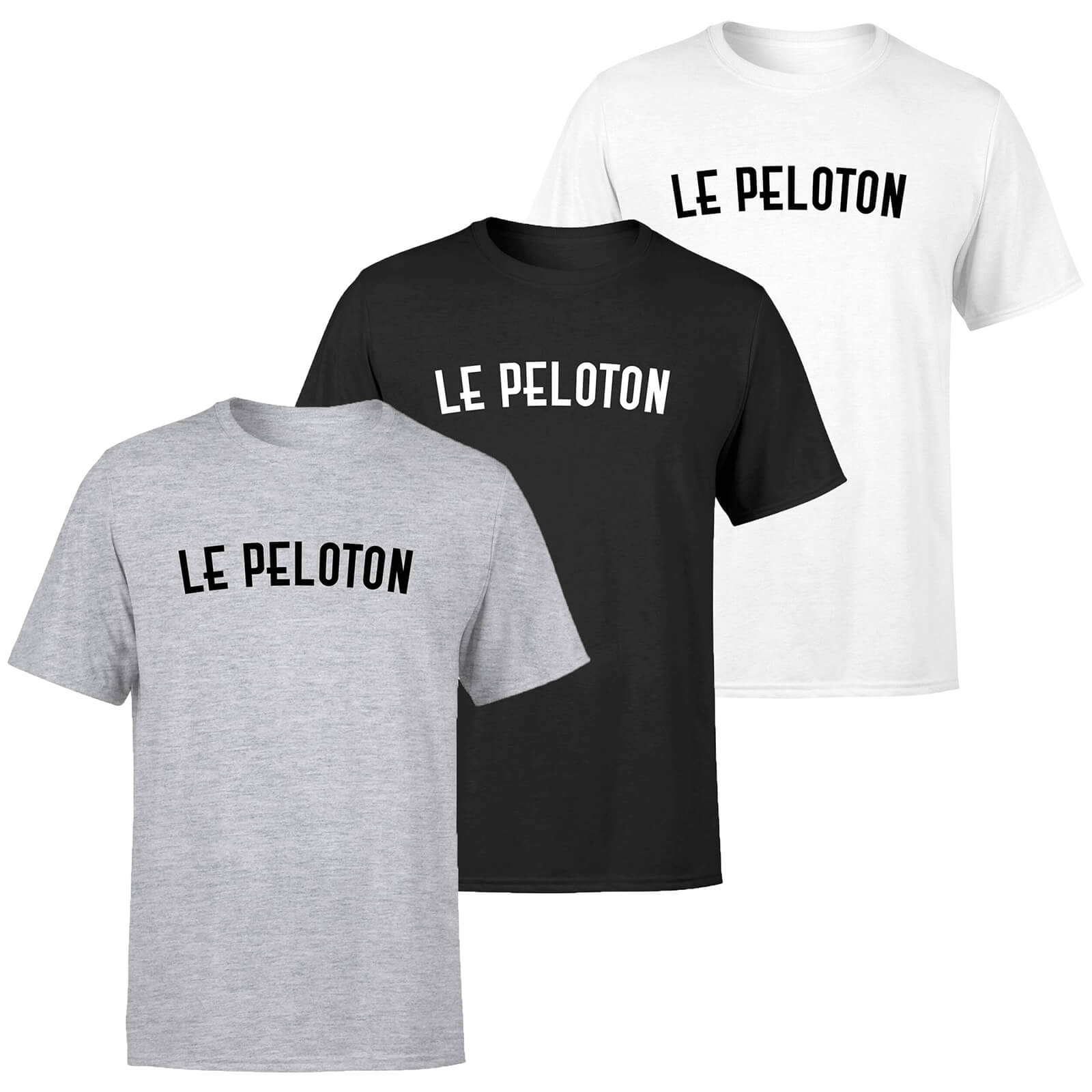 Le Peloton Men's T-Shirt - XXL - Grey