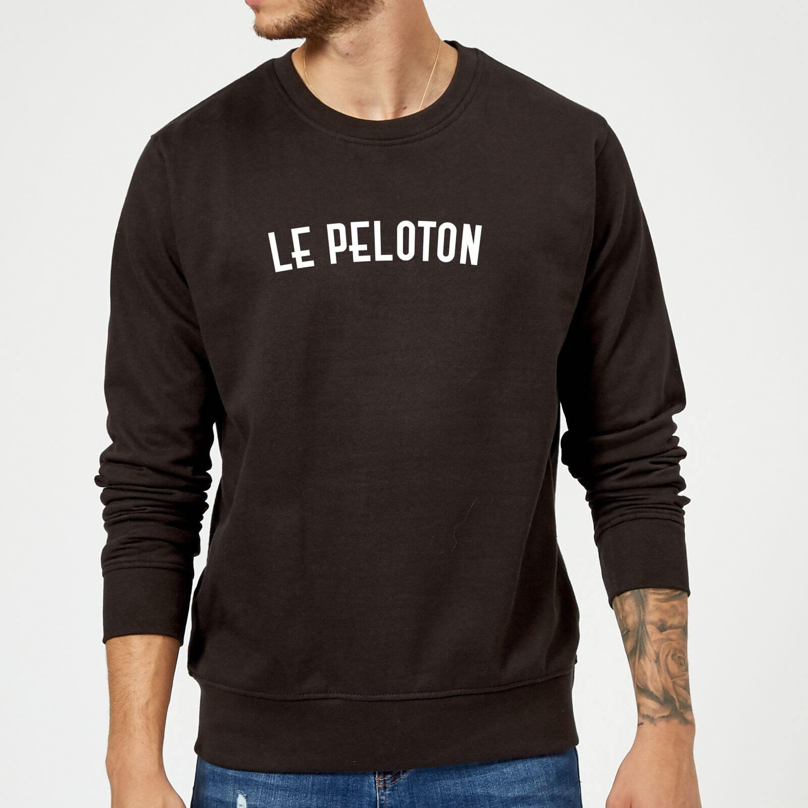 Le Peloton Sweatshirt - S - White