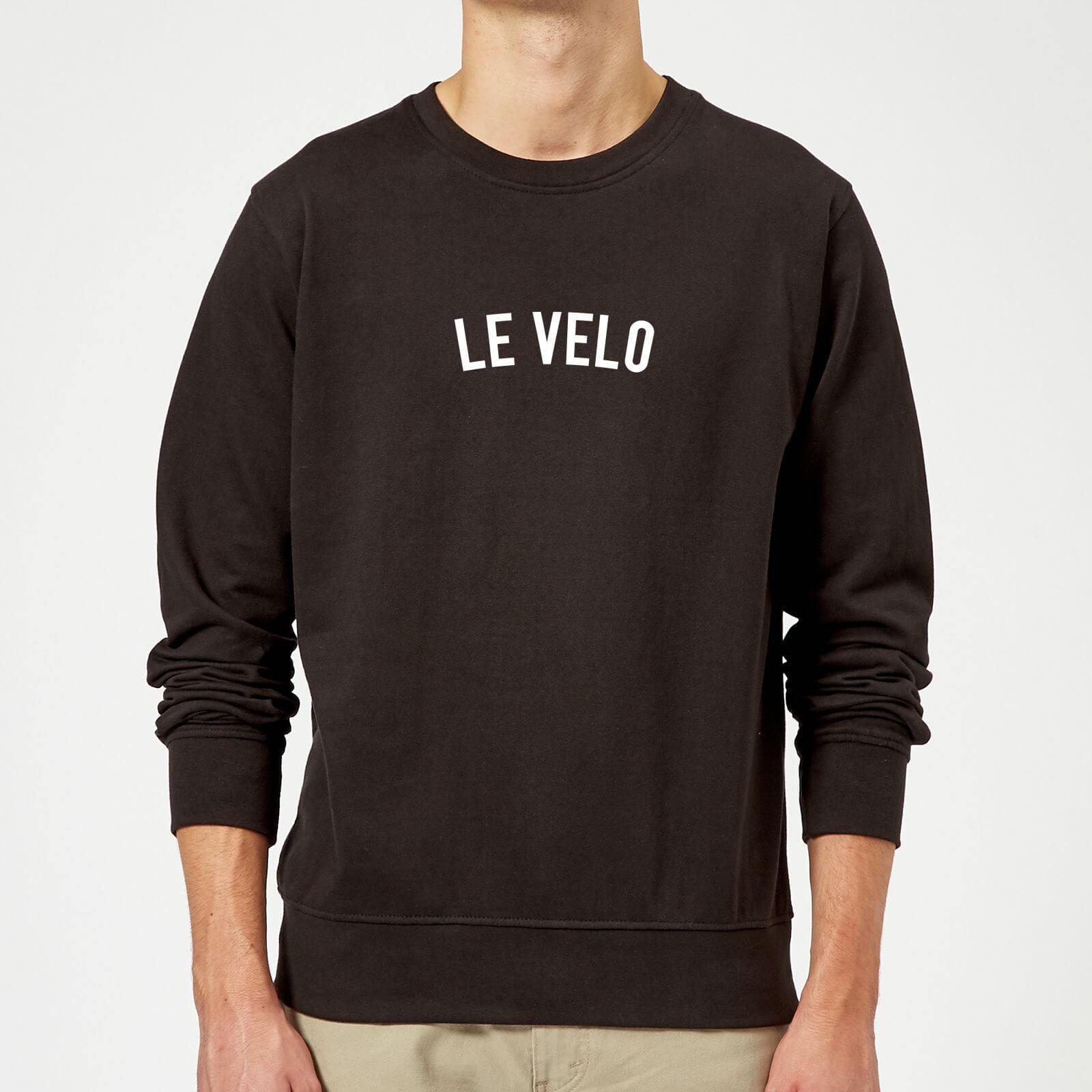 Le Velo Sweatshirt - XL - Grey