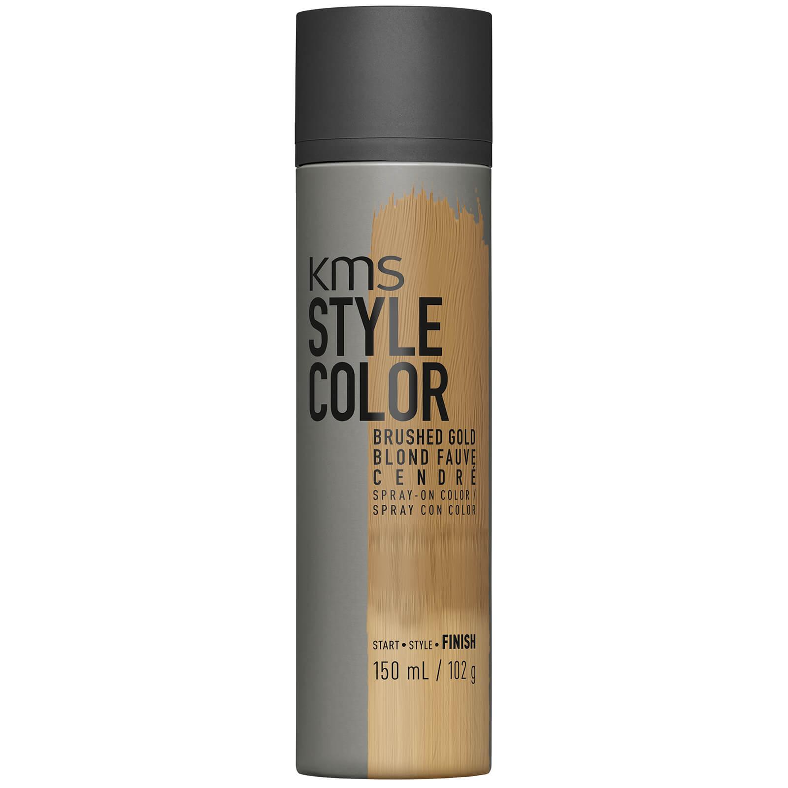 Espray de color Style Color Brushed Gold de KMS 150 ml