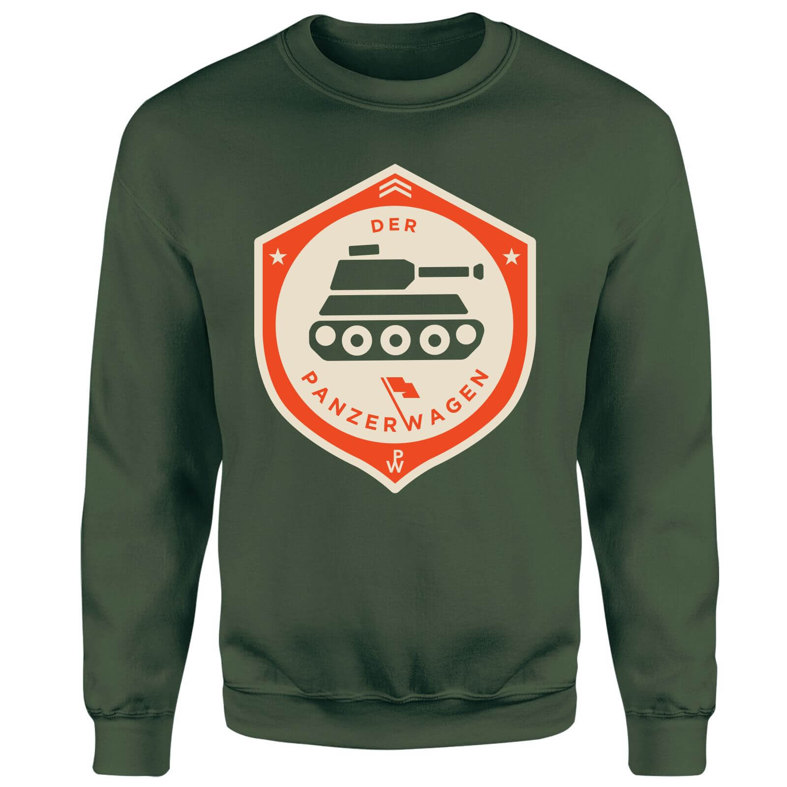 Der Panzerwagen Sweatshirt - XXL - Forest Green
