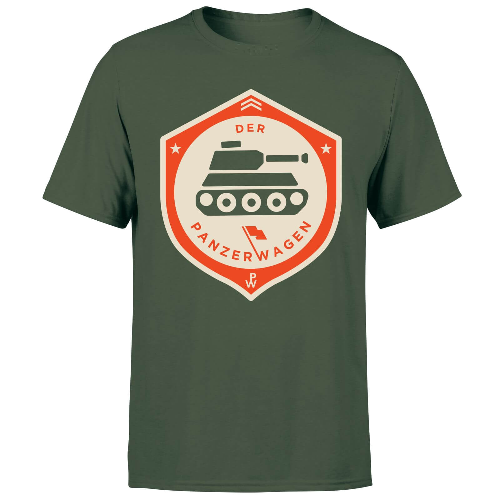 Der Panzerwagen Men's T-Shirt - XXL