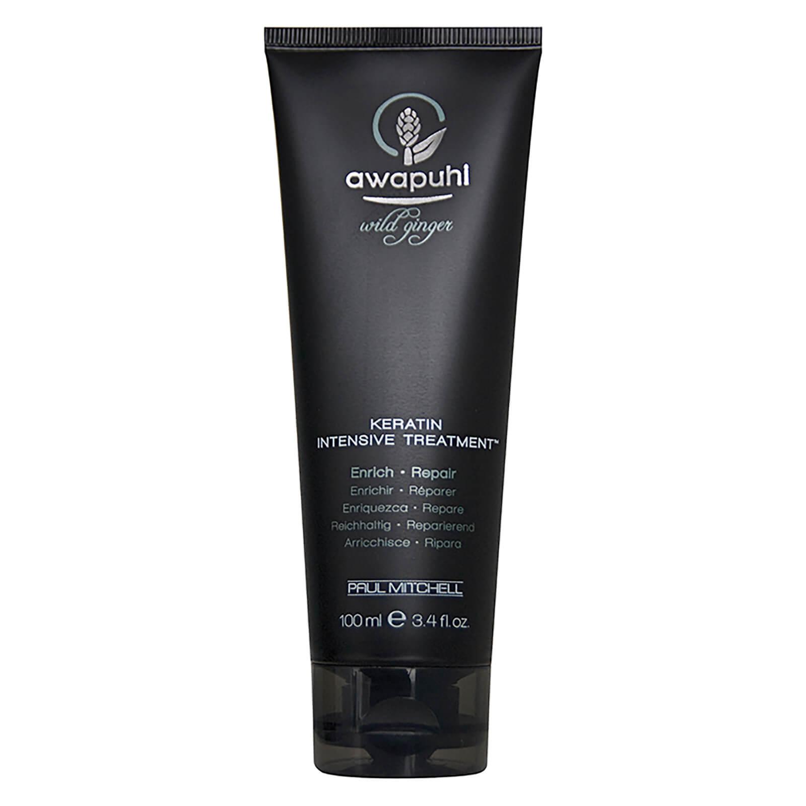 Купить Глубоко увлажняющая маска для волос Paul Mitchell Awapuhi Wild Ginger Keratin Intensive Treatment 100 мл