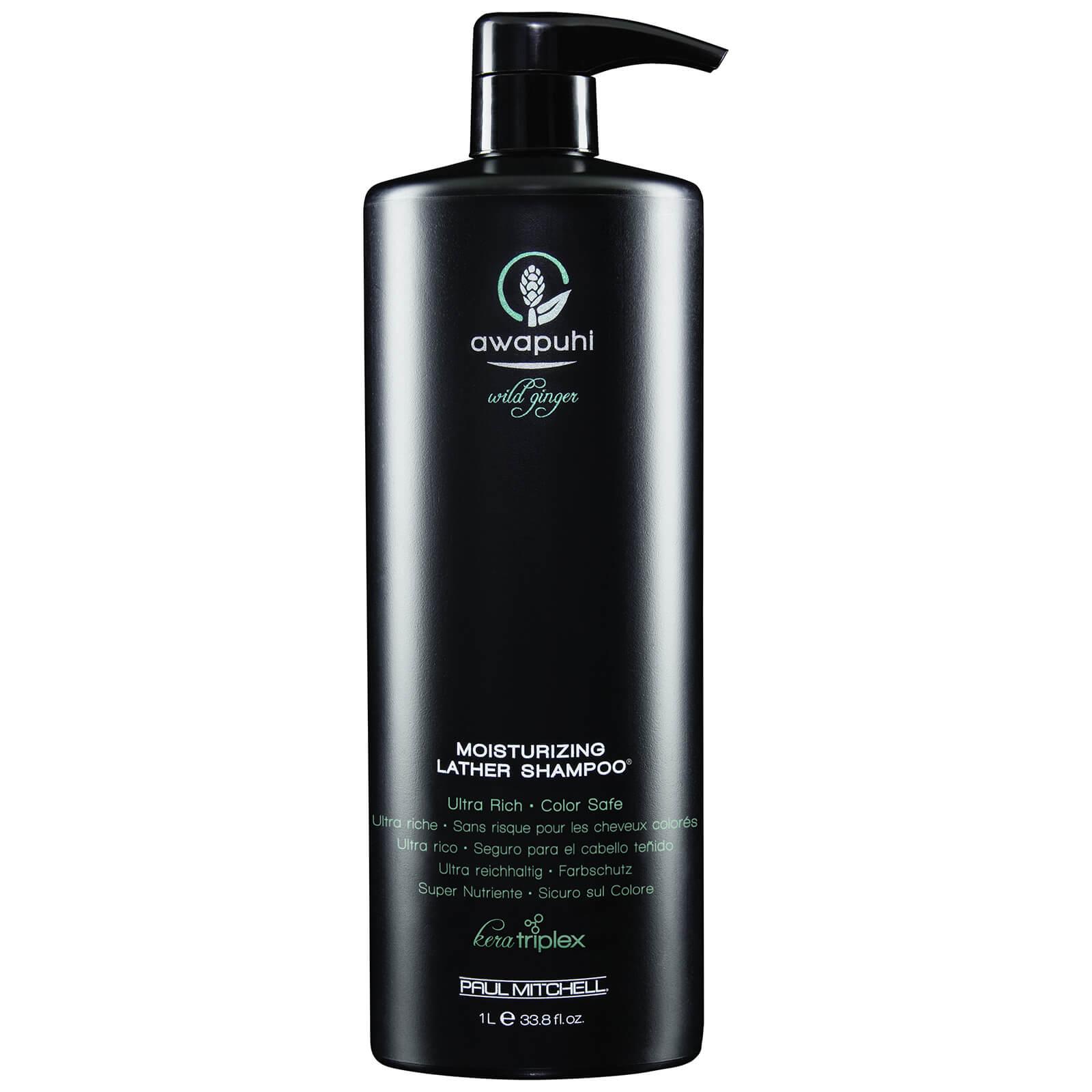 Paul Mitchell Awapuhi Wild Ginger Moisturizing Lather Shampoo 1000ml