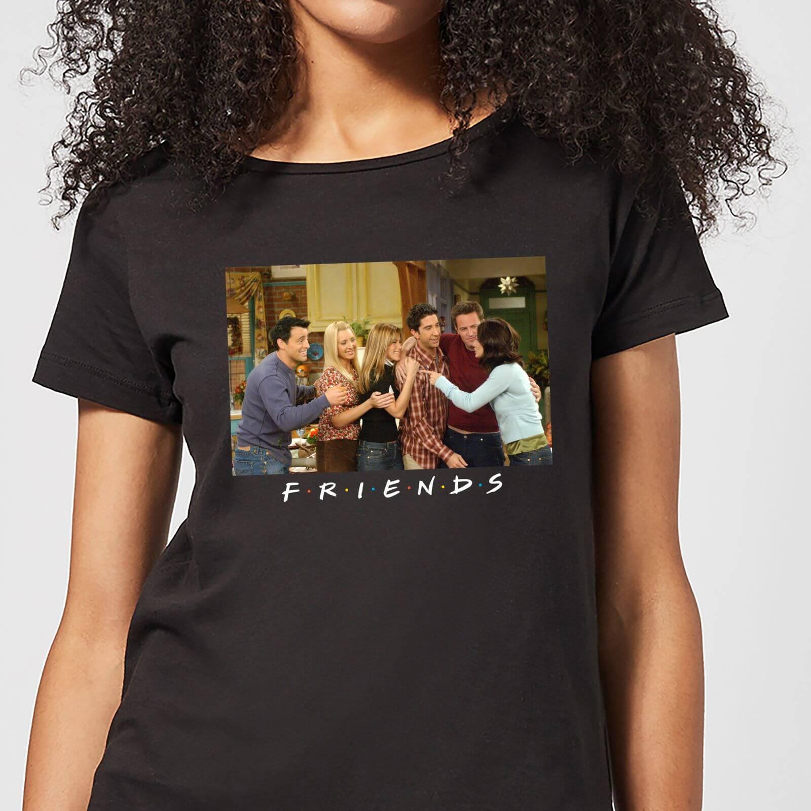 Friends Cast Shot Women's T-Shirt - Black - 3XL - Black