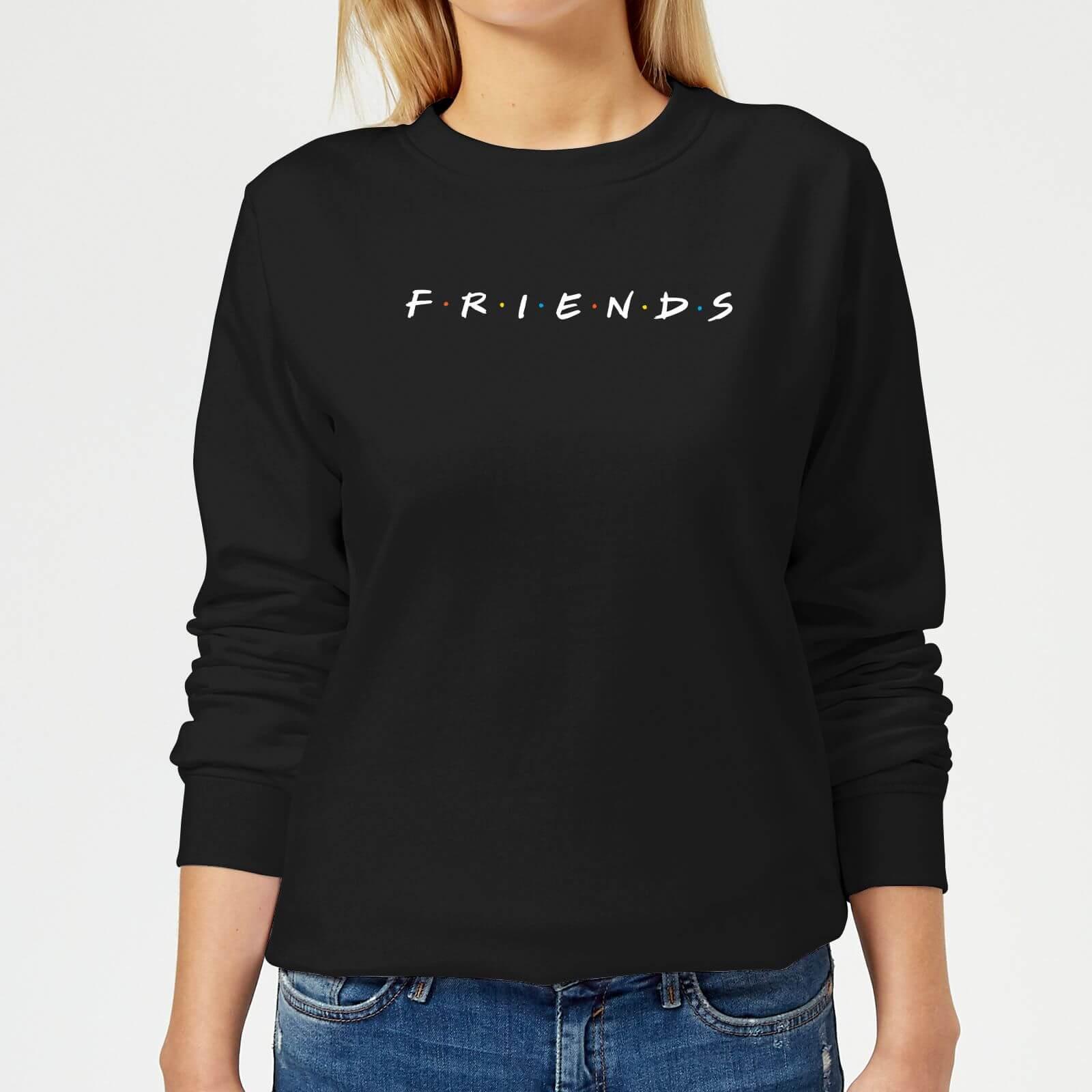 Friends Logo Damen Pullover - Schwarz - XS - Schwarz