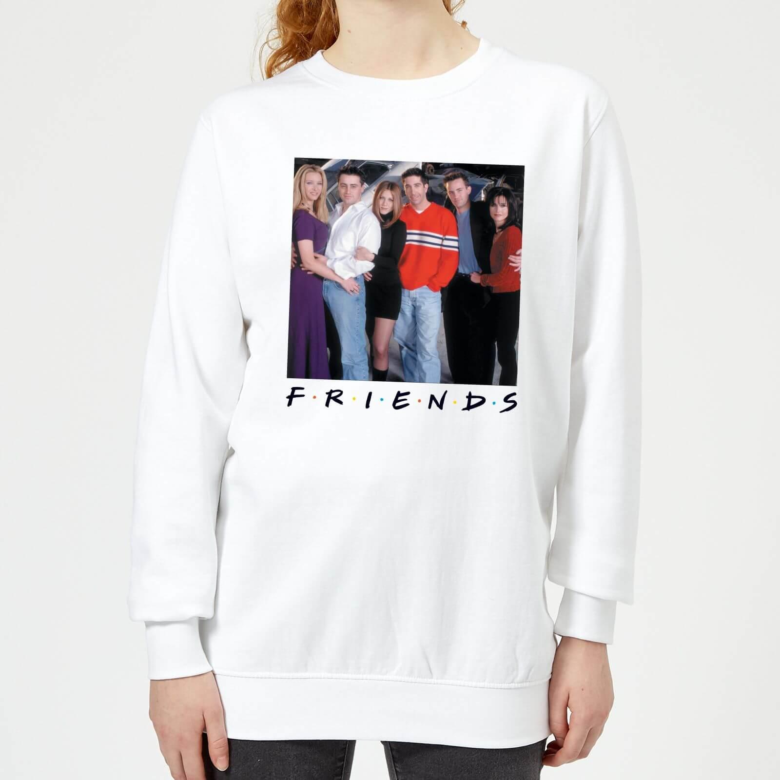 Friends Cast Pose Damen Pullover - Weiß - XL - Weiß