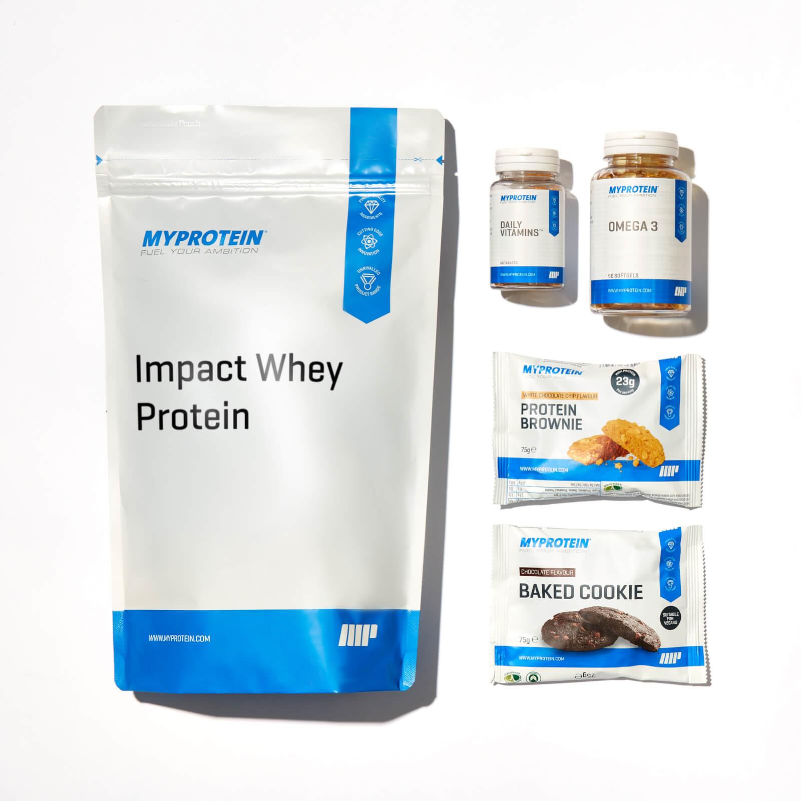 Myprotein App Essentials Bundle - Chocolate - Strawberry Cream