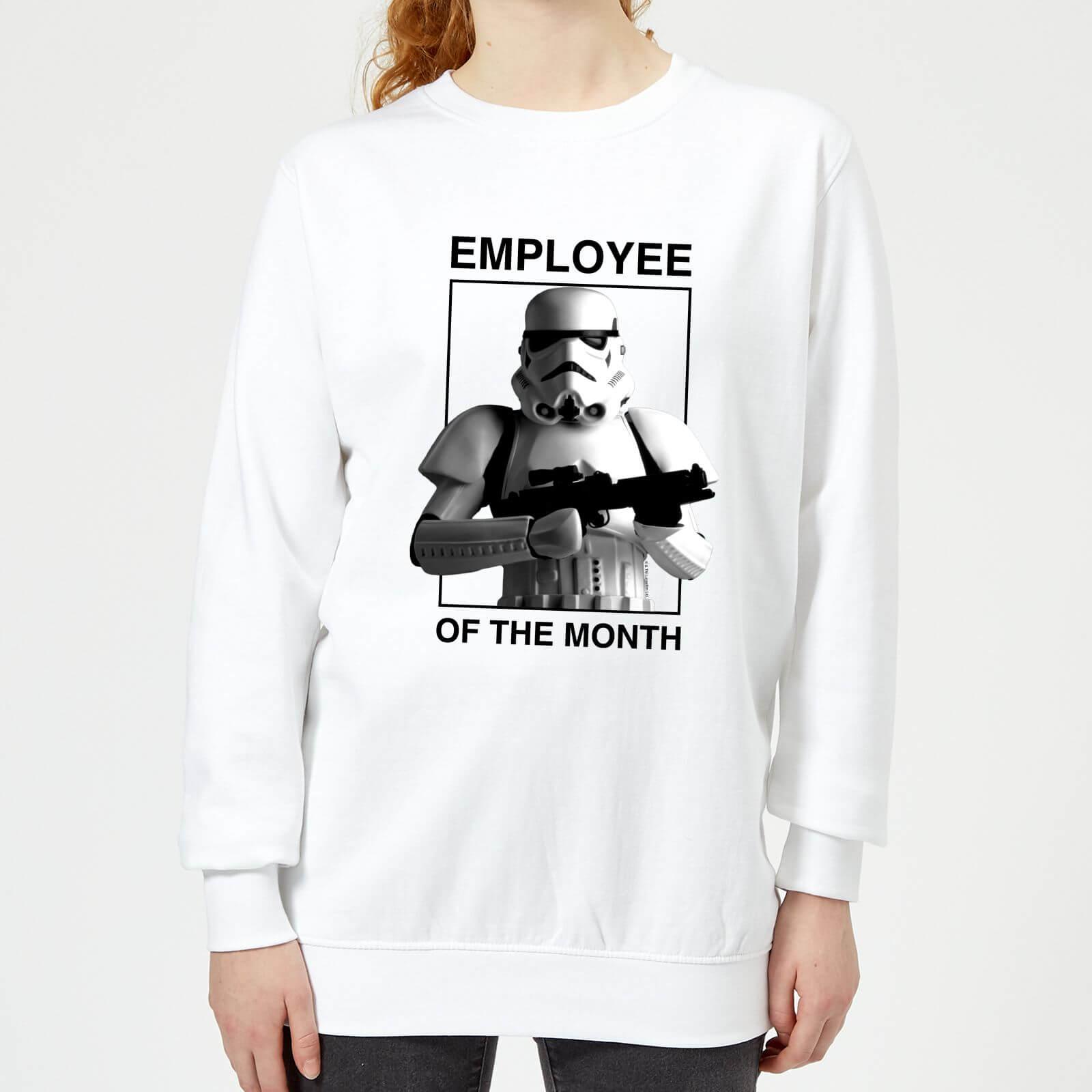 Star Wars Employee Of The Month Women's Sweatshirt - White - XS - White