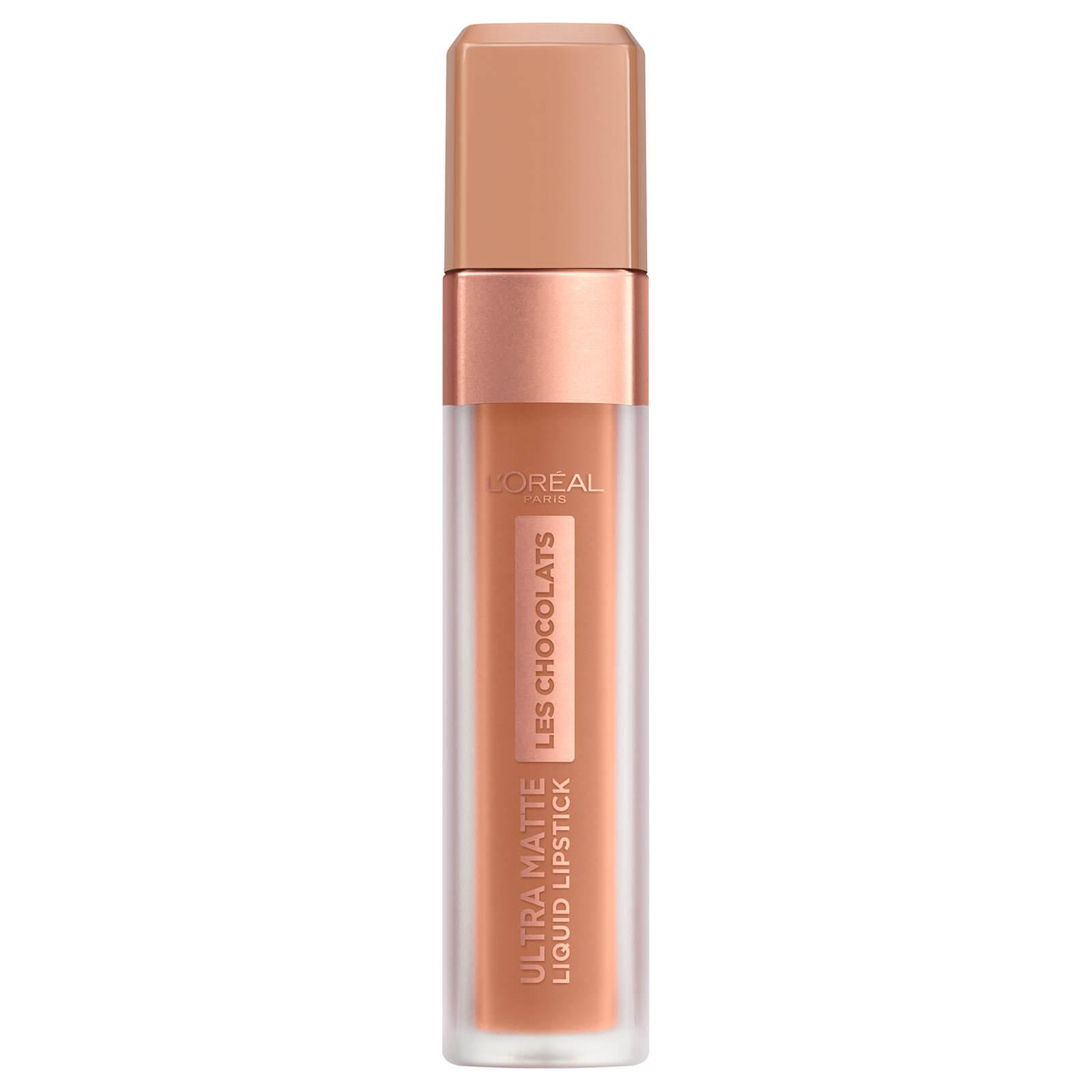L'Oréal Paris Les Chocolats Ultra Matte Liquid Lipstick (Various Shades) - 860 Ginger Bomb
