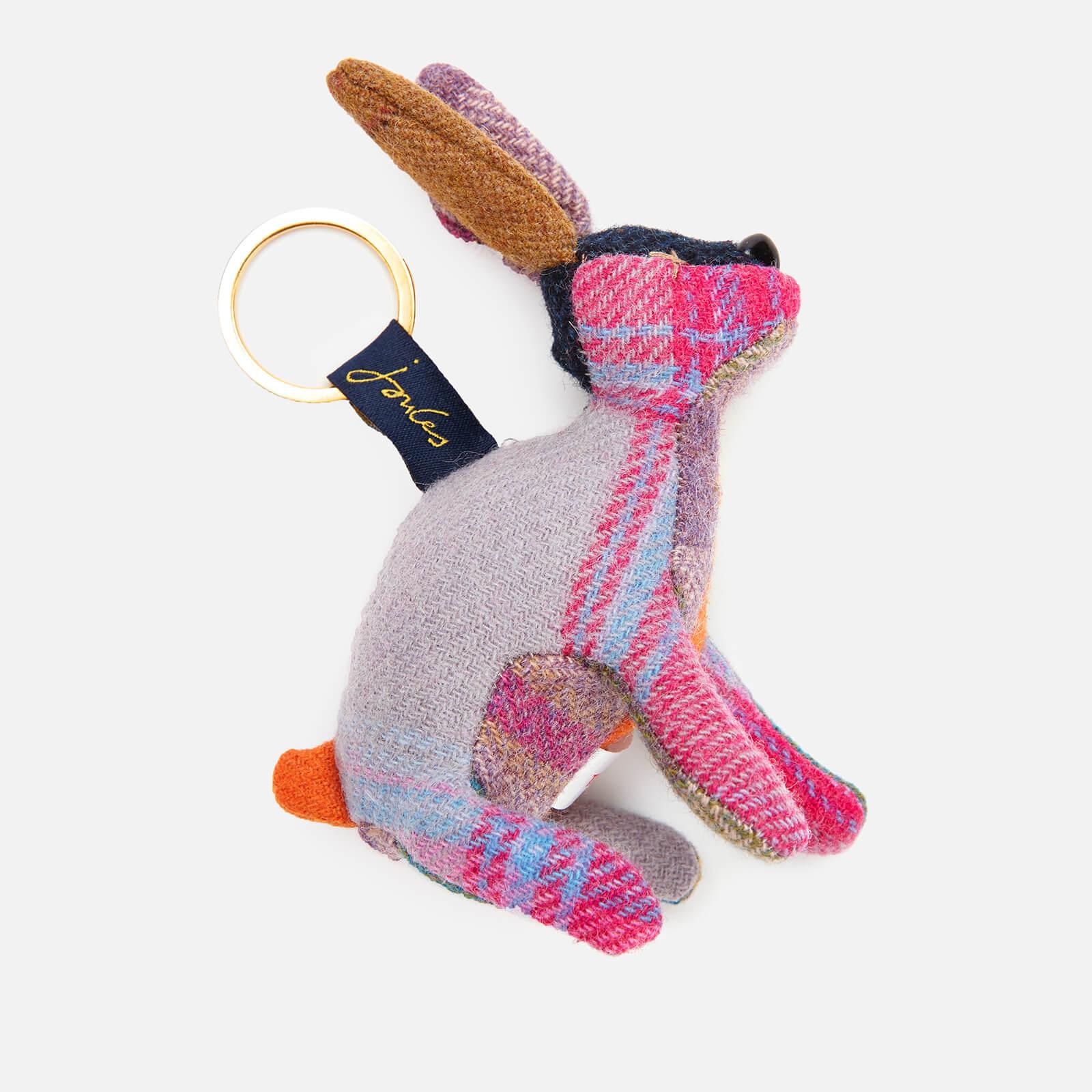 Joules Women's Tweedle Hare Keyring - Brown