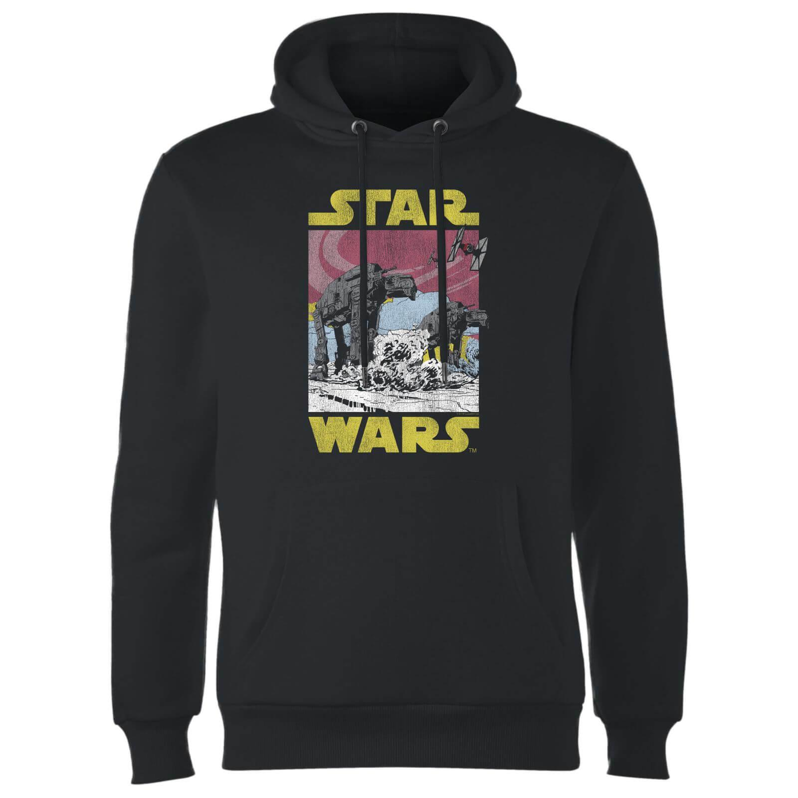 Star Wars ATAT Hoodie - Black - L