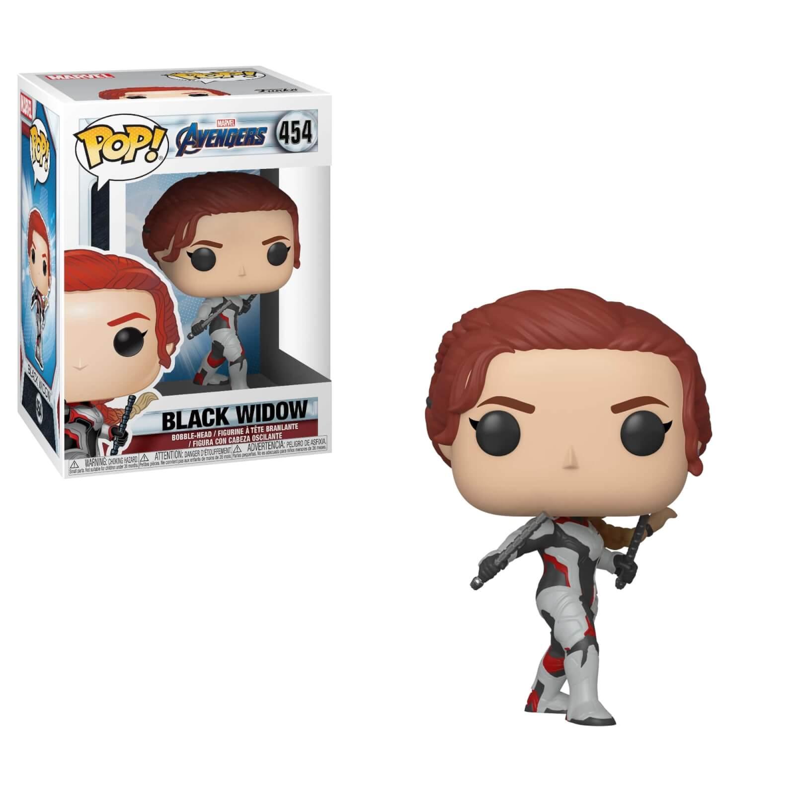 Marvel Avengers: Endgame Black Widow Funko Pop! Figuur