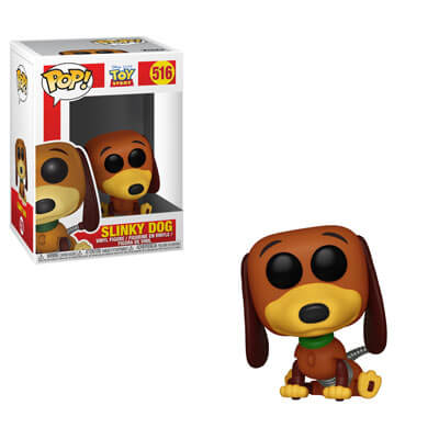 Image of Toy Story Slinky Dog Pop! Vinyl Figure
