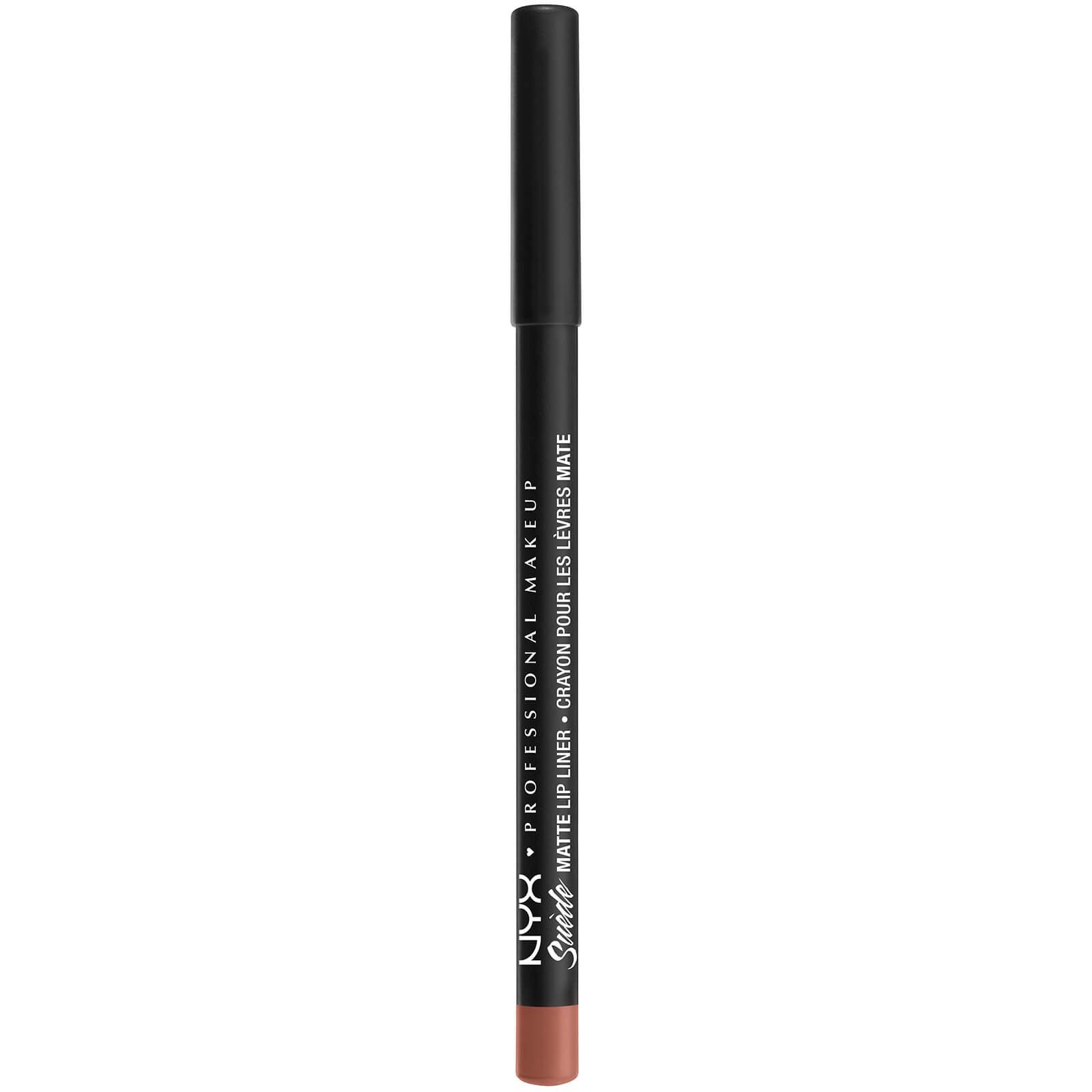 nyx professional makeup suede matte lip liner (various shades) - rose the day