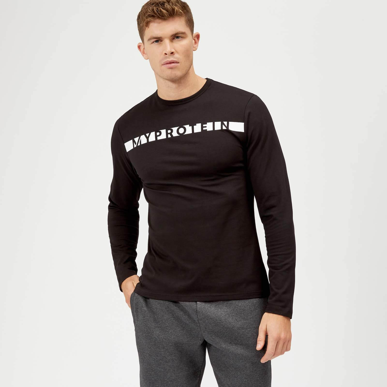 Myprotein The Original Long-Sleeve T-Shirt - Svart - S