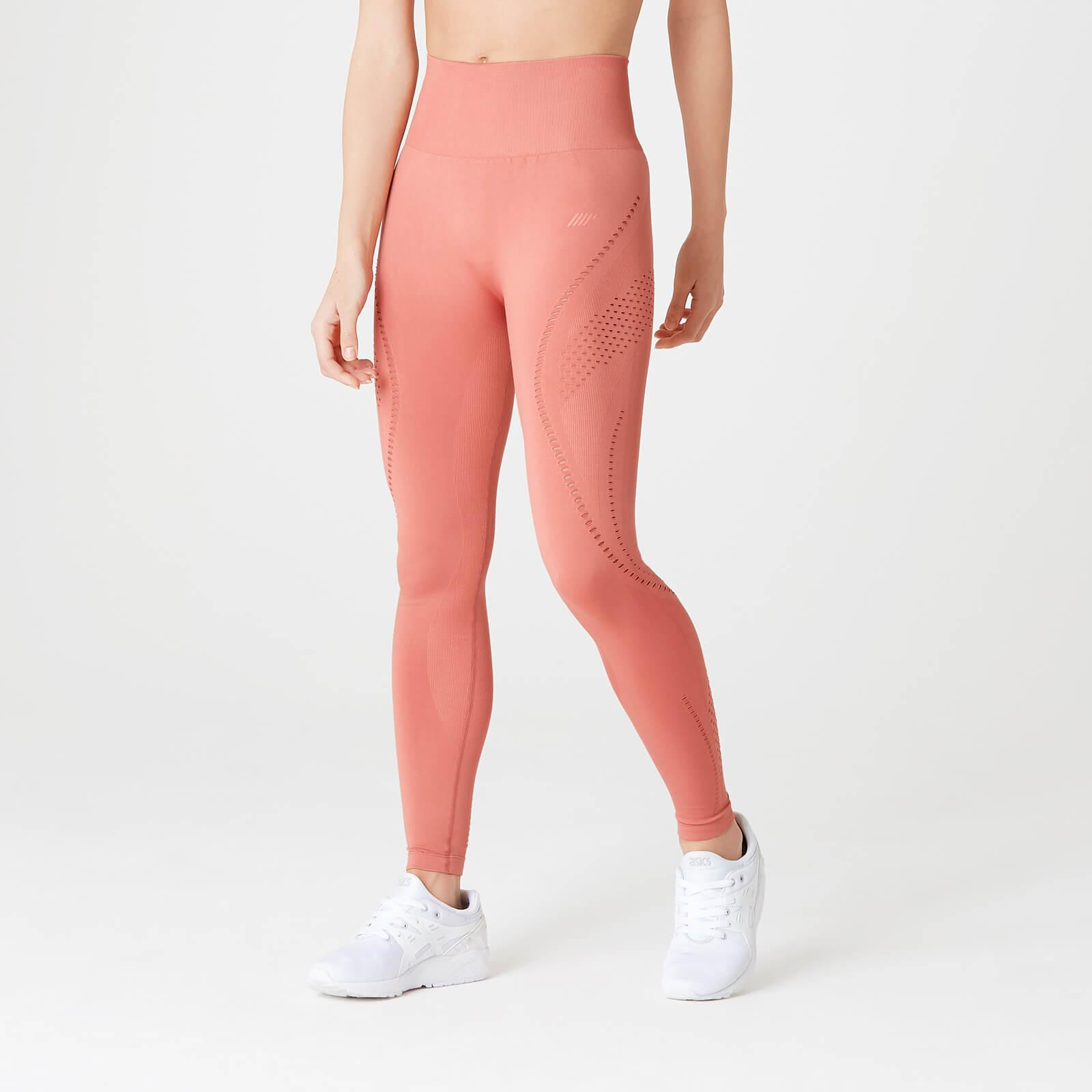 Купить Бесшовные леггинсы Shape Ultra – Розовые - L, Myprotein International