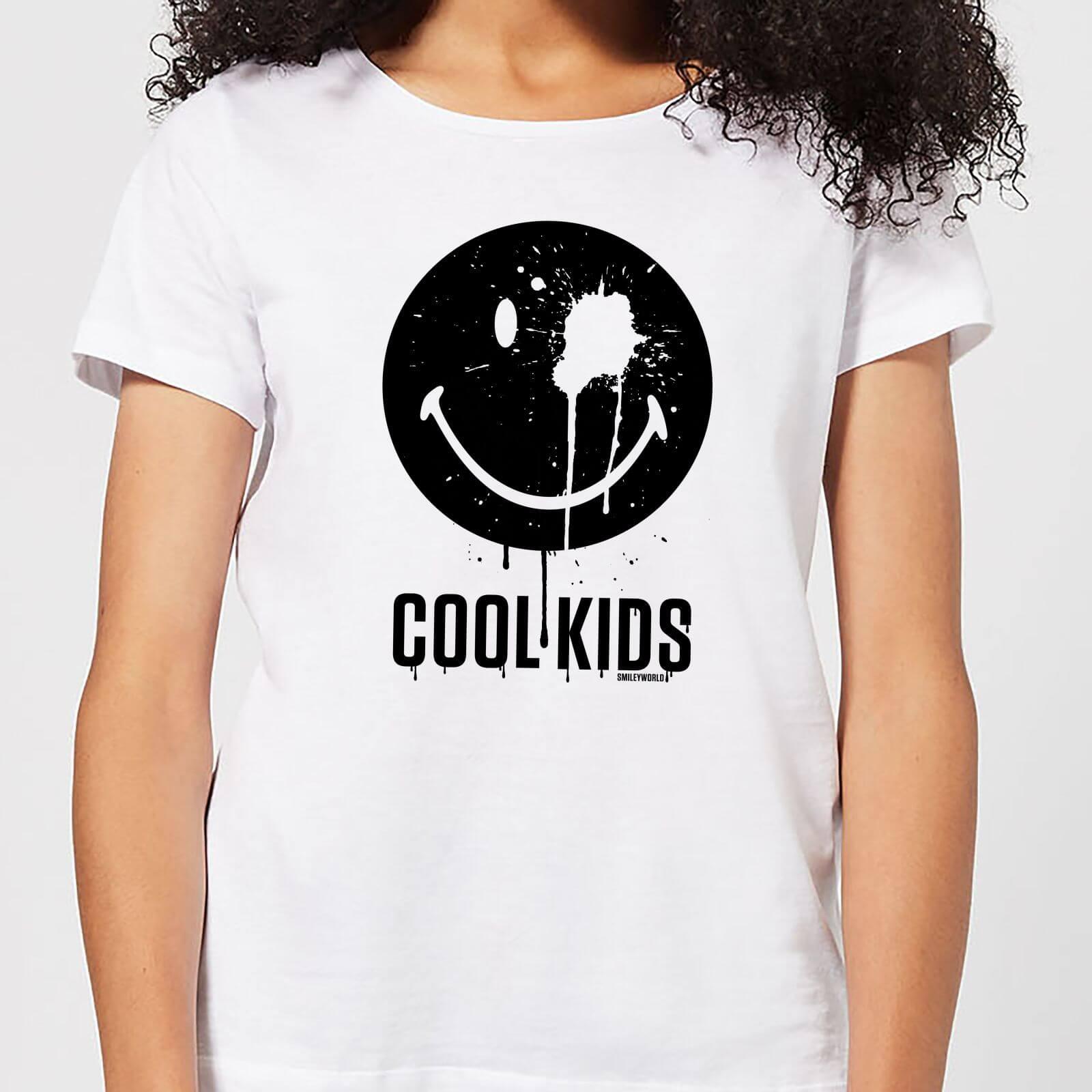 Smiley World Slogan Cool Kids Women's T-Shirt - White - XXL - Weiß
