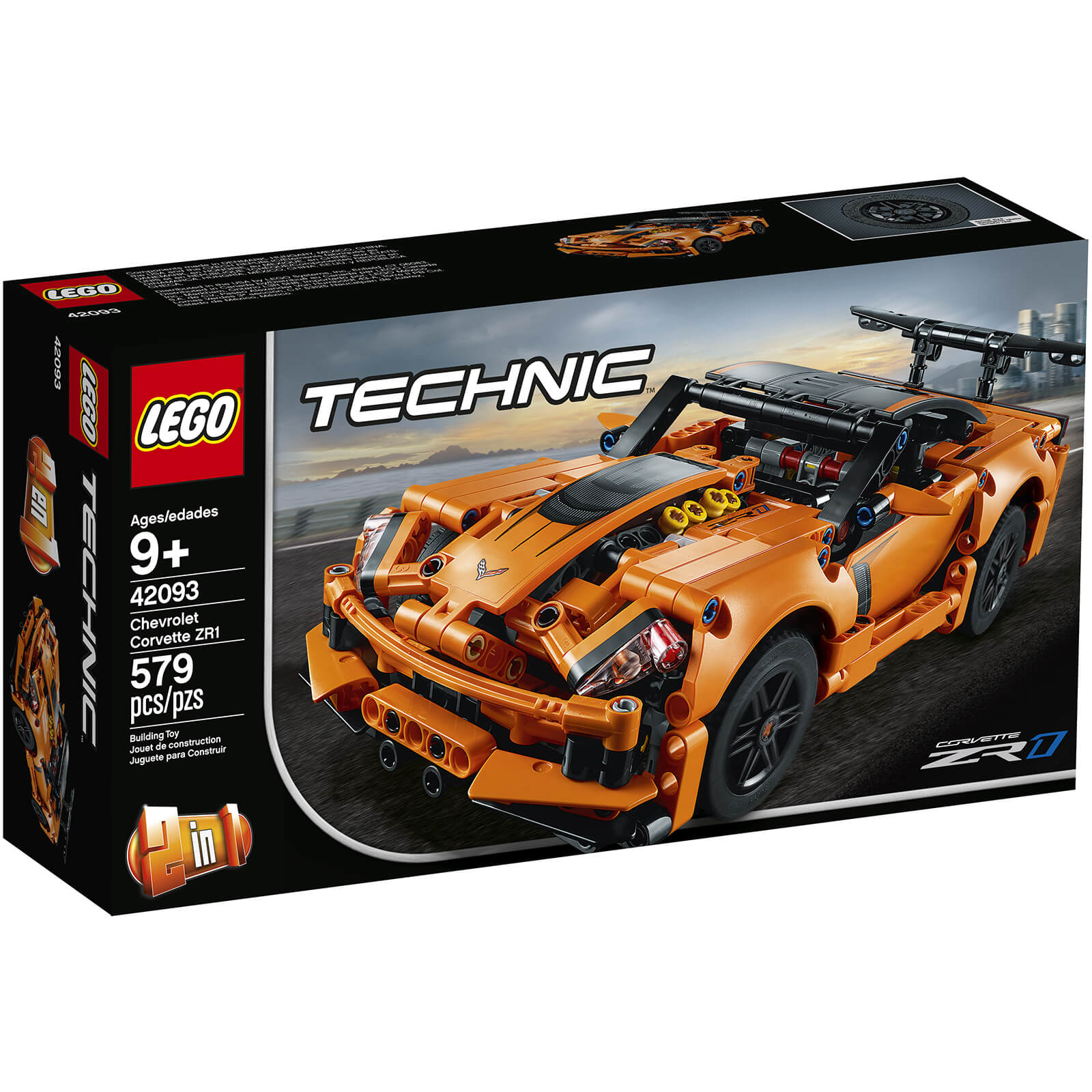 Image of 42093 LEGO® TECHNIC Chevrolet Corvette ZR1