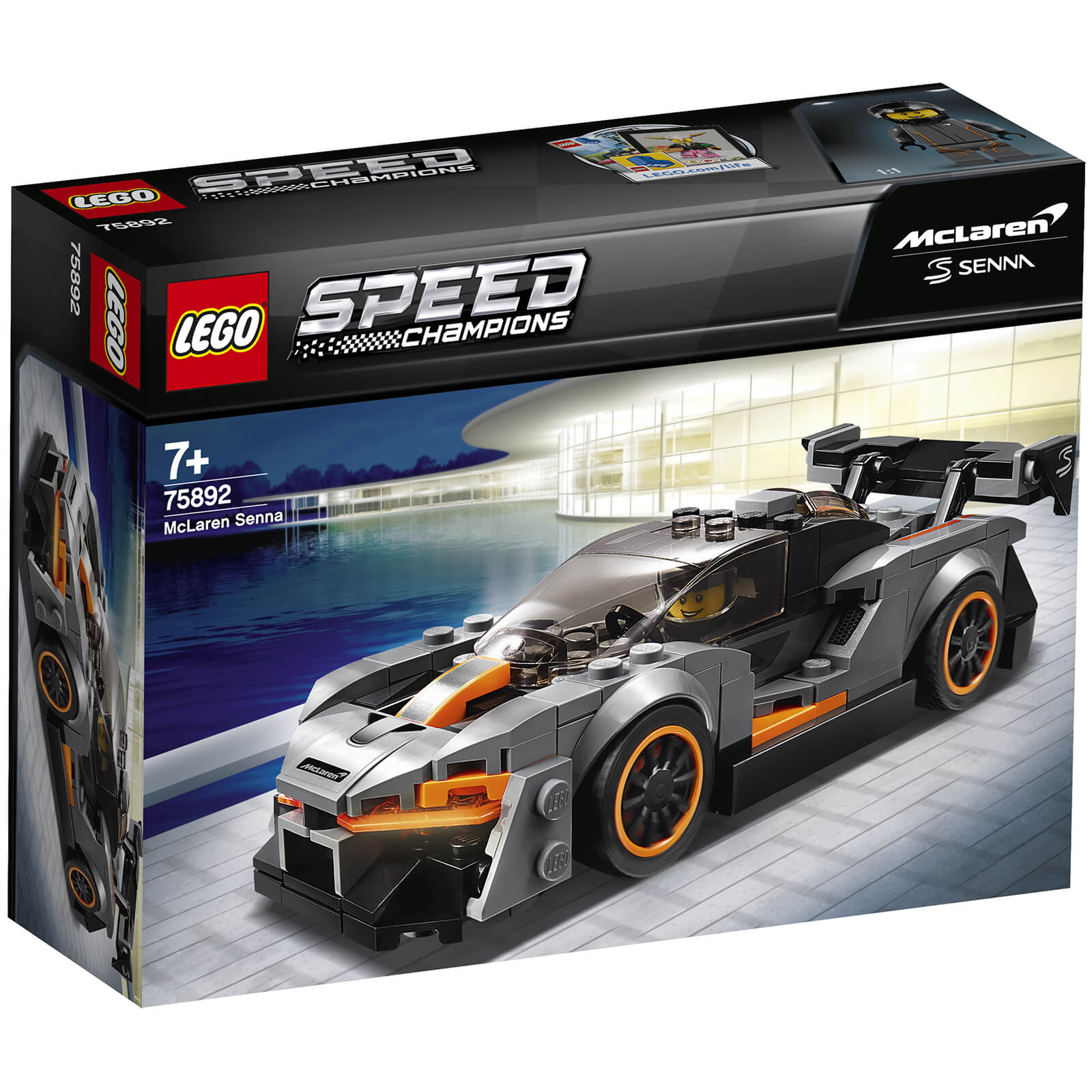 Image of 75892 LEGO® SPEED CHAMPIONS McLaren Senna