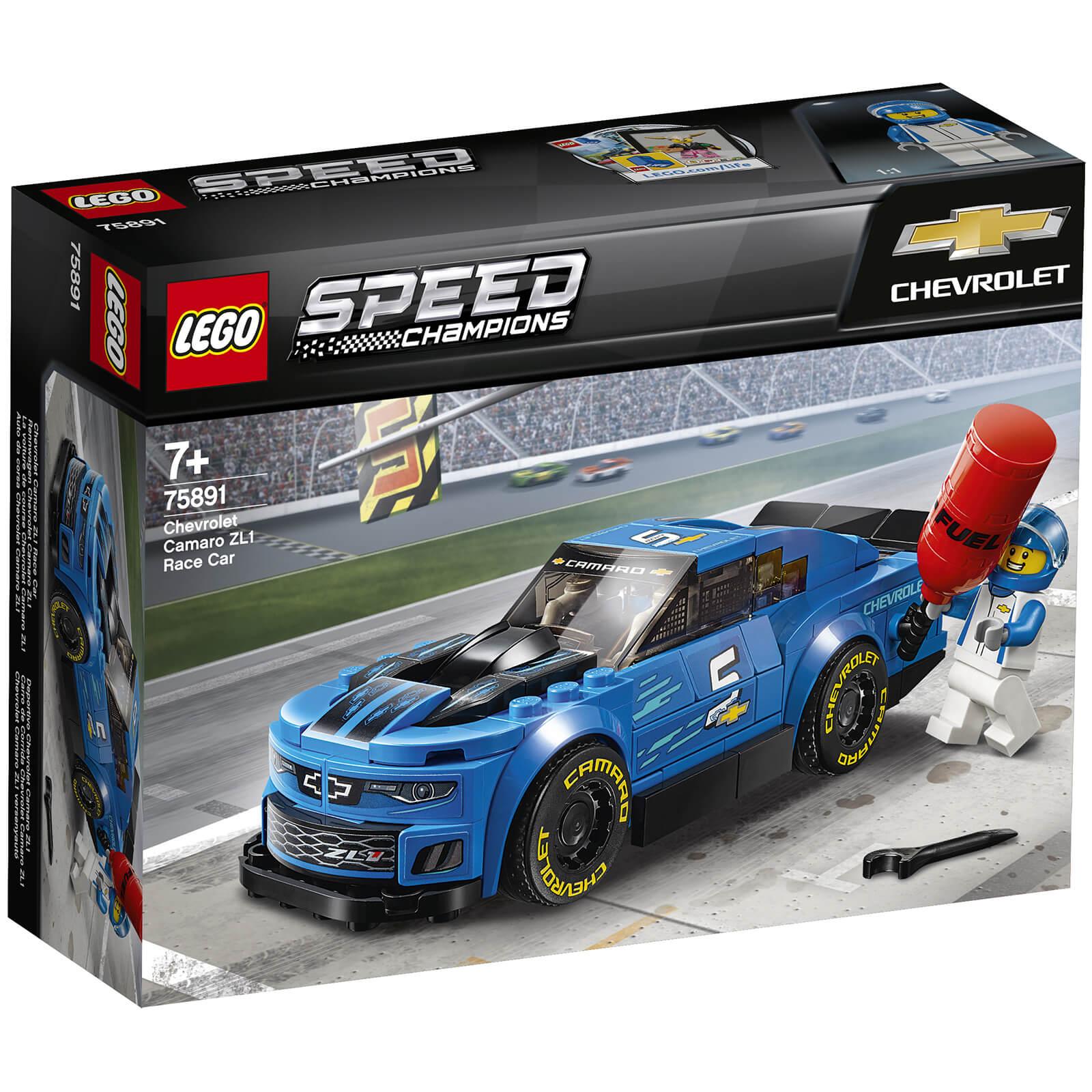Image of 75891 LEGO® SPEED CHAMPIONS Racing Car Chevrolet Camaro ZL1