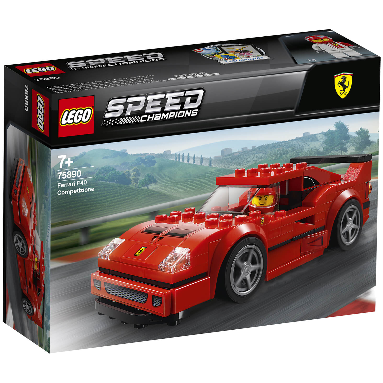 Image of 75890 LEGO® SPEED CHAMPIONS Competizione Ferrari F40