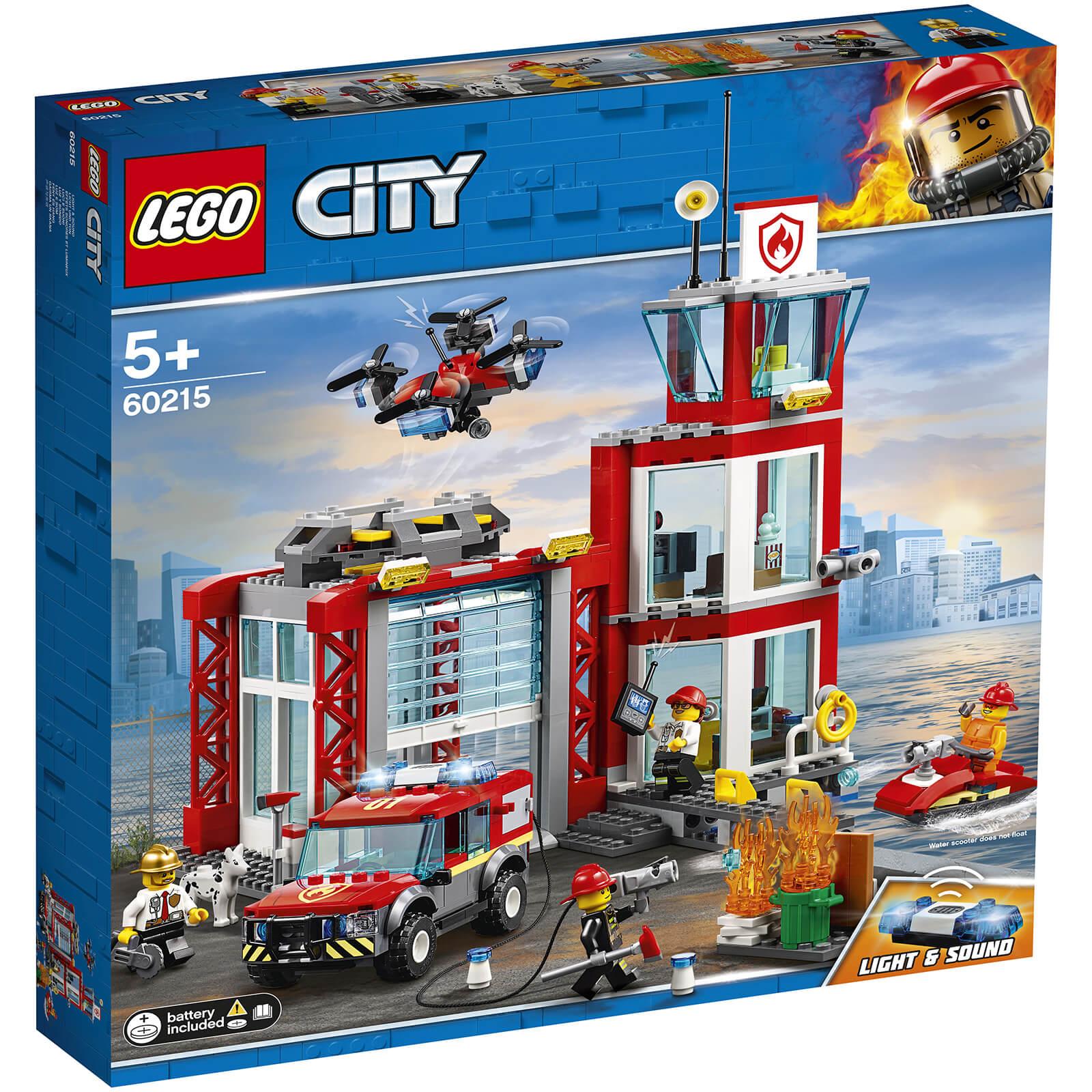 LEGO City: Fire Station Building Set (60215)
