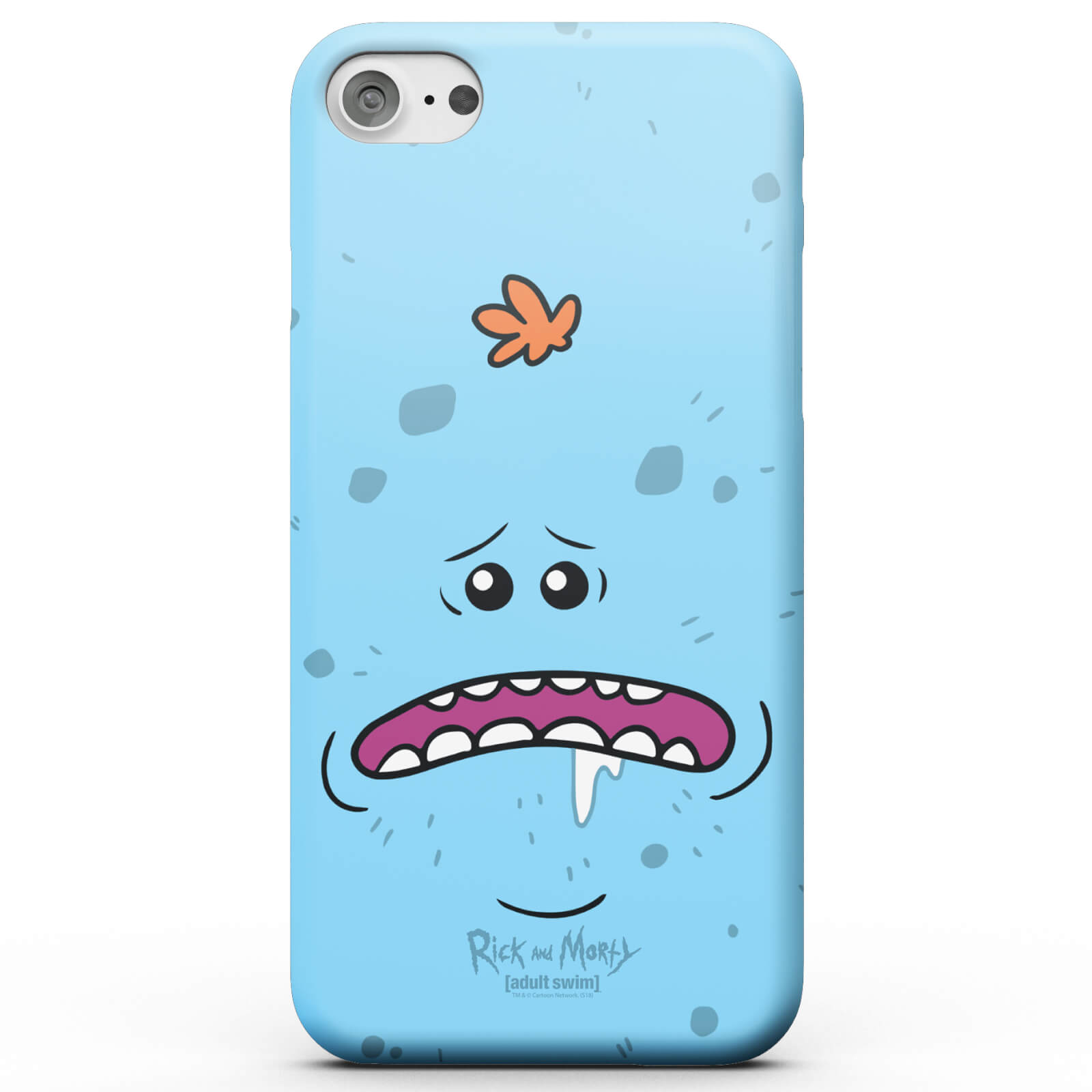 Rick and Morty Mr Meeseeks Phone Case for iPhone and Android - iPhone 11 - Snap Case - Matte