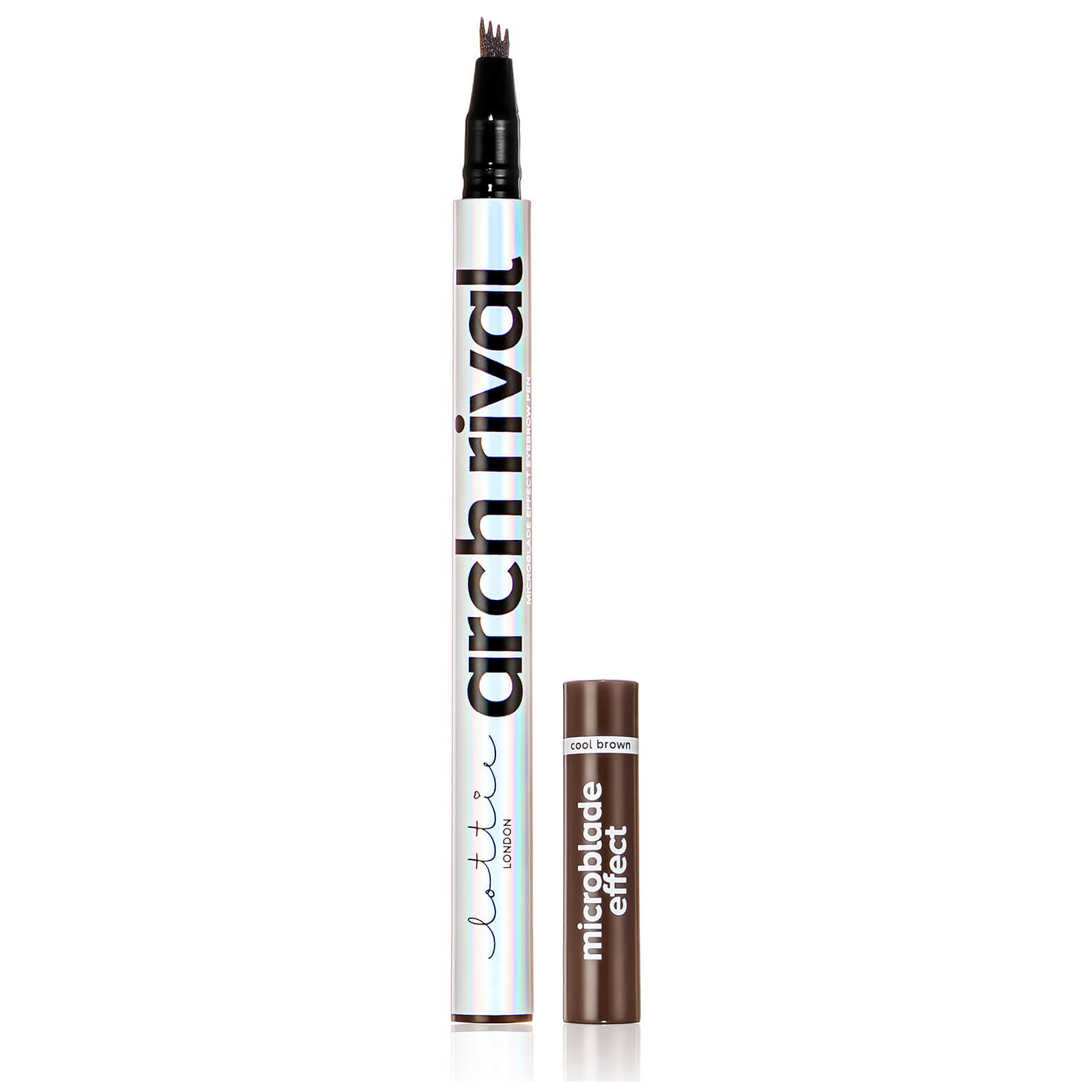 Lottie London Arch Rival Microblade Brow (Various Shades) - Cool Brown