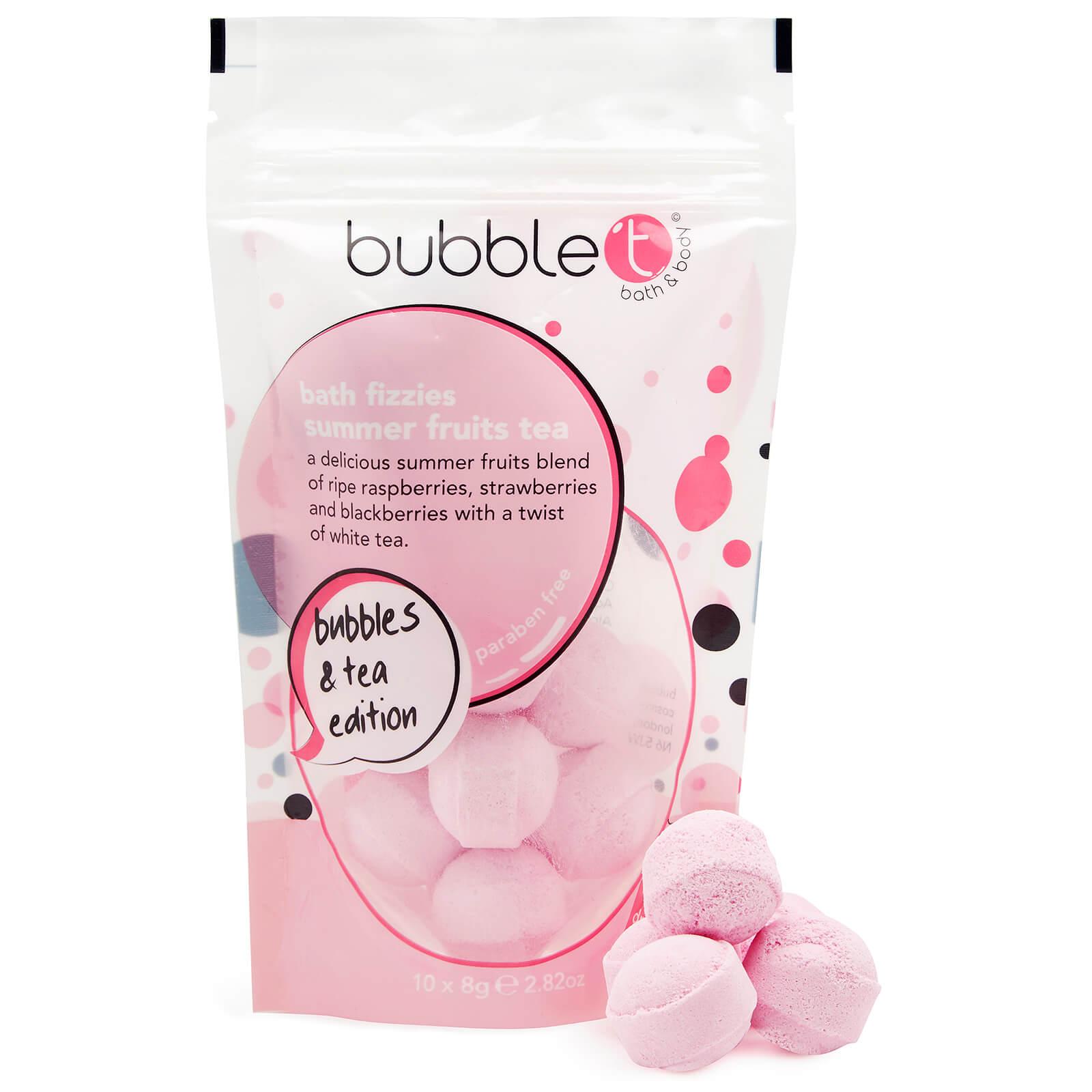 Купить Бомбочки для ванны Bubble T Summer Fruits Tea Bath Bomb Fizzers (10 x 8 г)