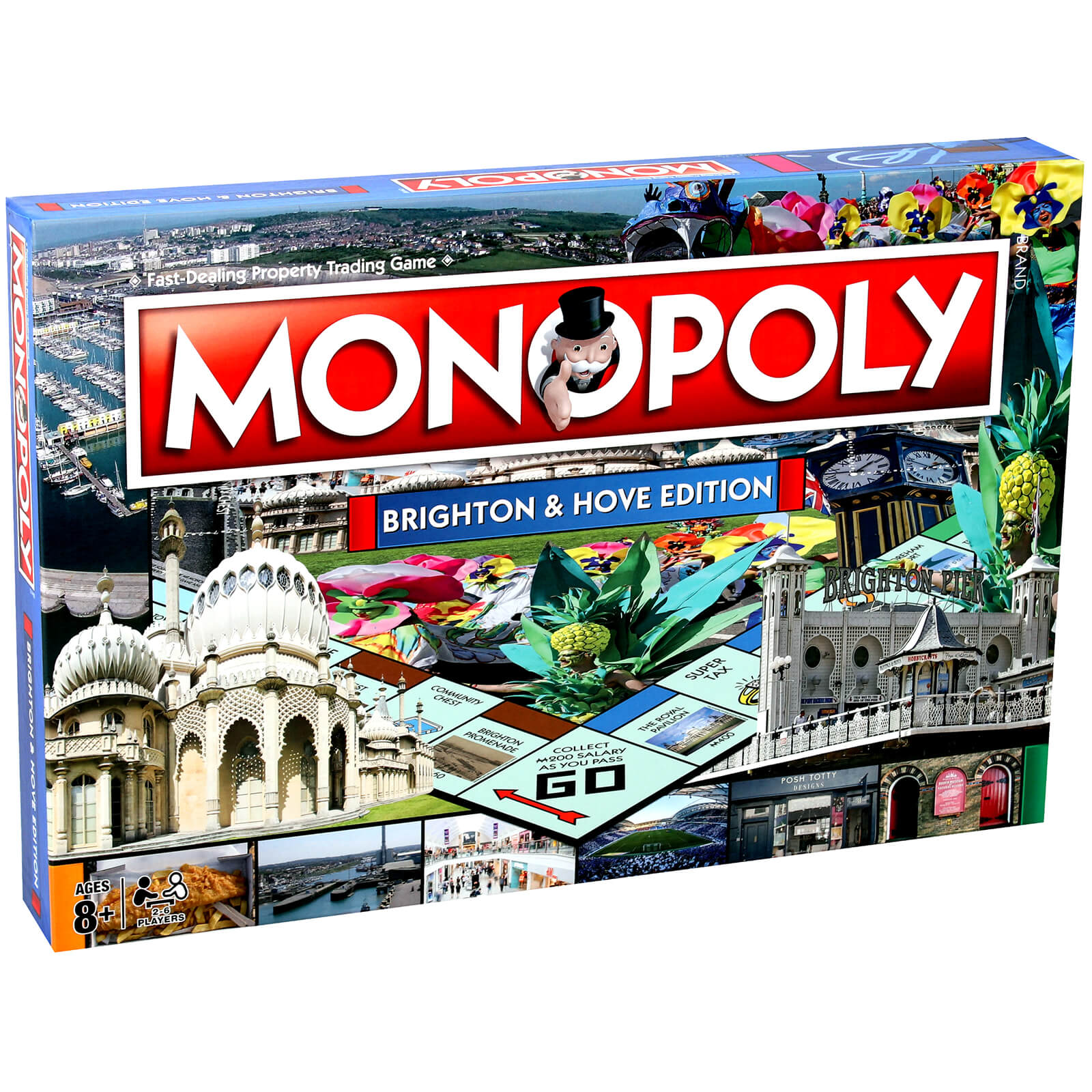 Image of Monopoly Board Game - Brighton Edition