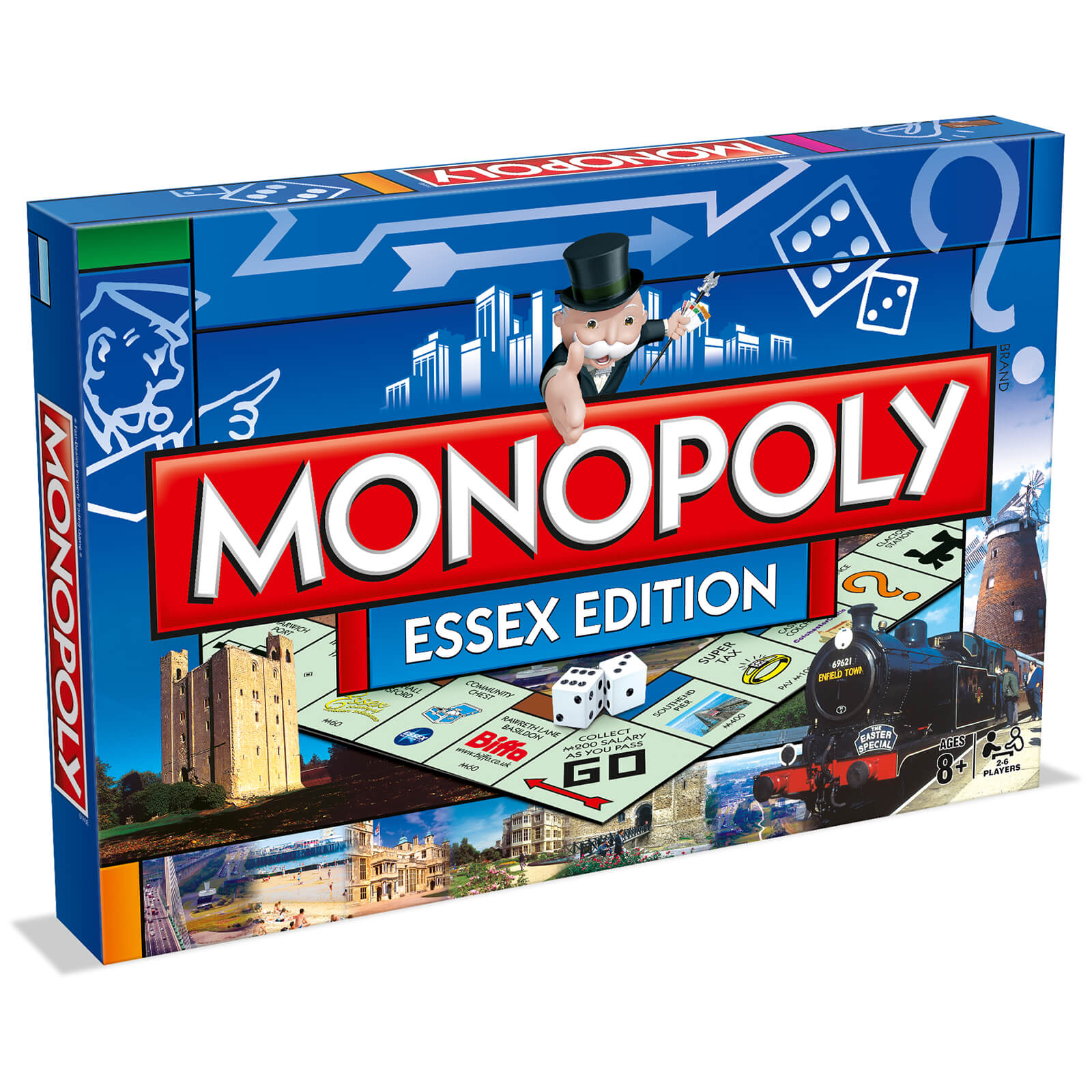 Image of Monopoly Board Game - Essex Edition