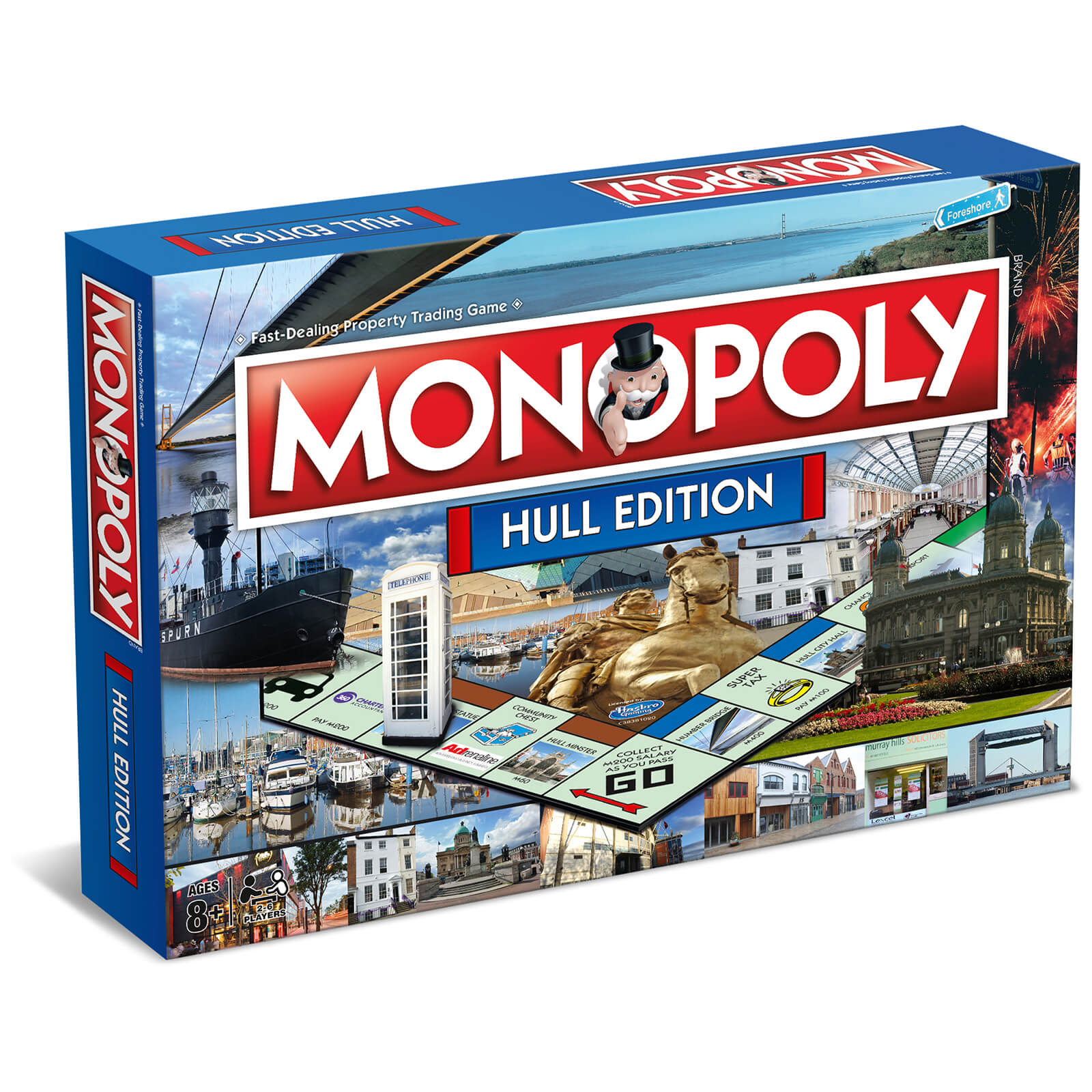 Image of Monopoly Board Game - Hull Edition