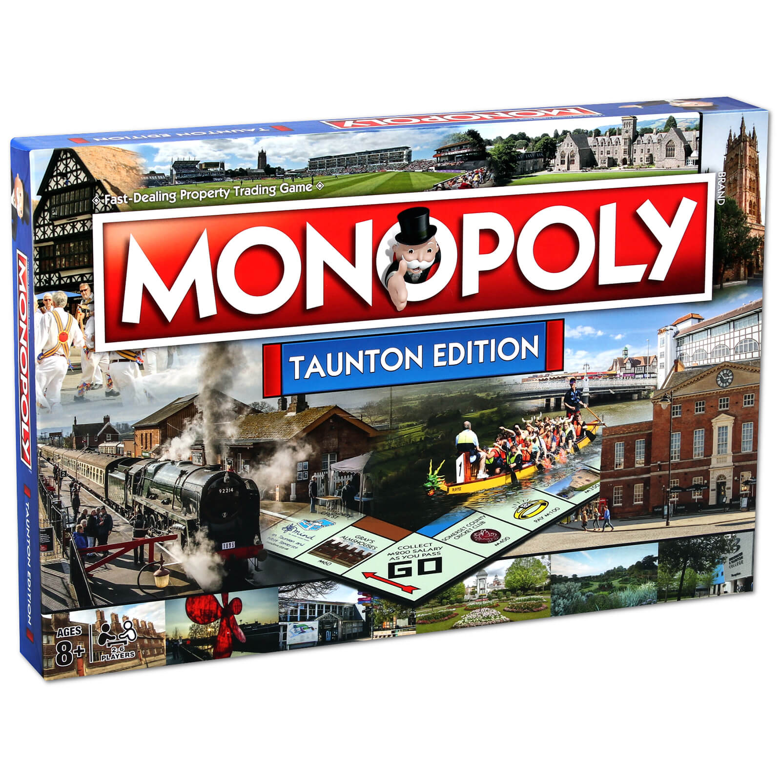 Image of Monopoly Board Game - Taunton Edition